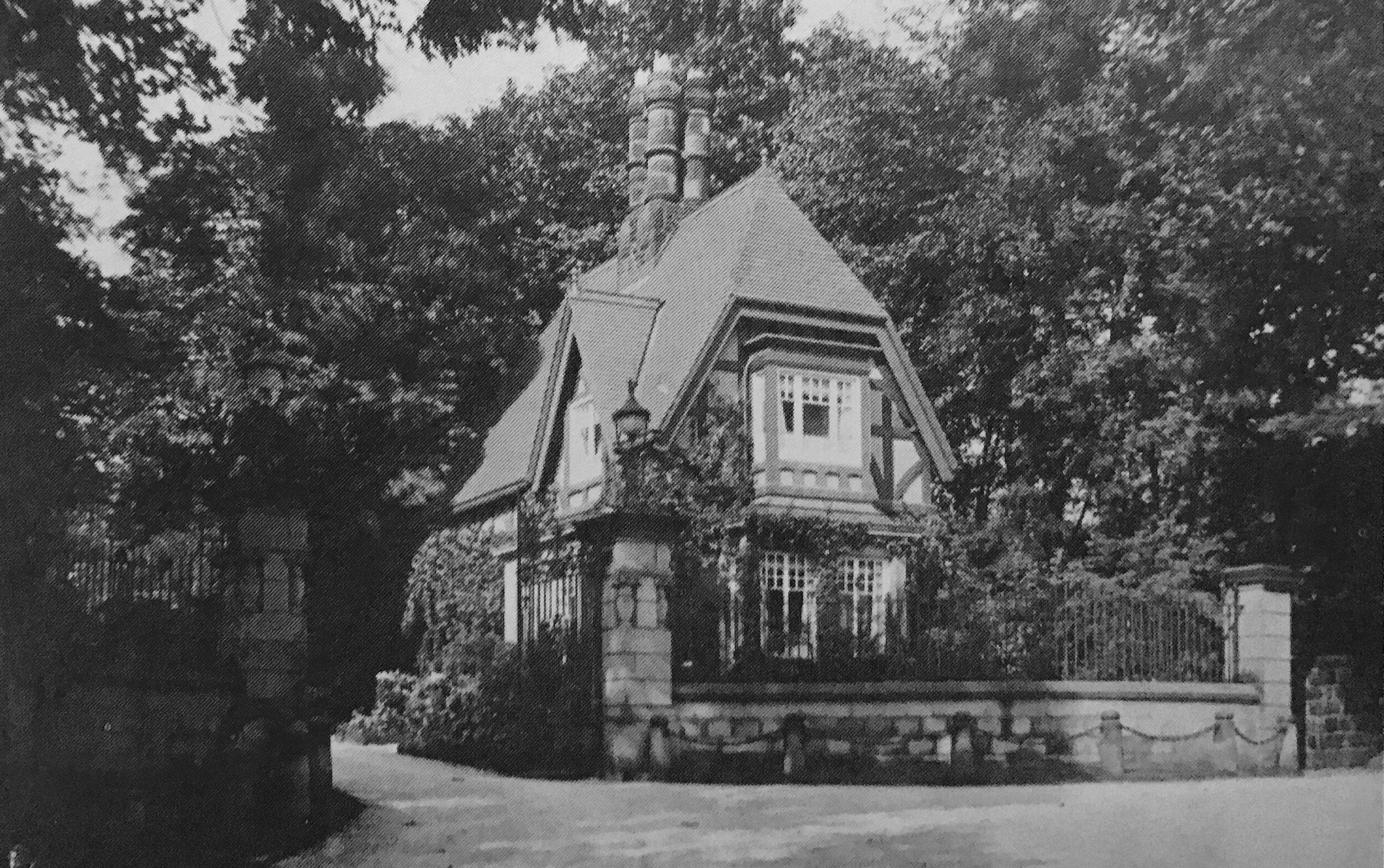 14  Lodge, Bardon Hill, circa 1920