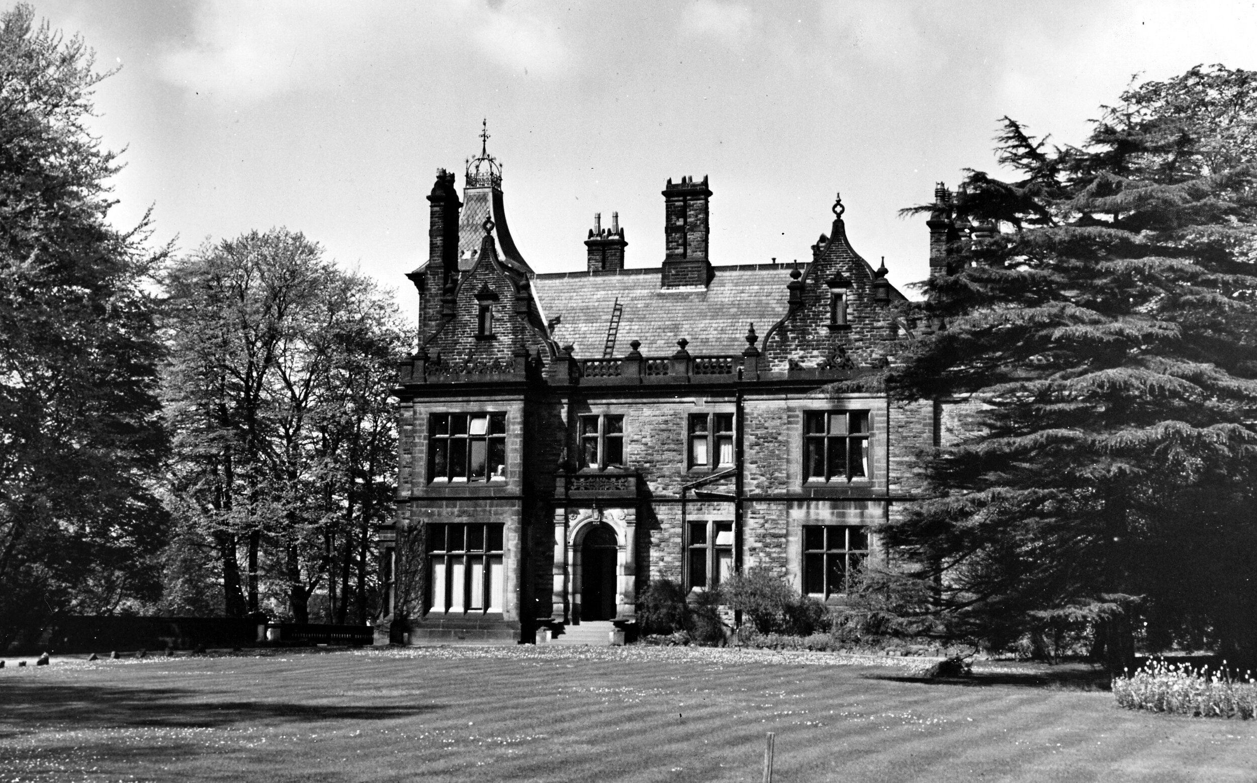 19  Oxley Hall, formerly Weetwood Villa, 1916