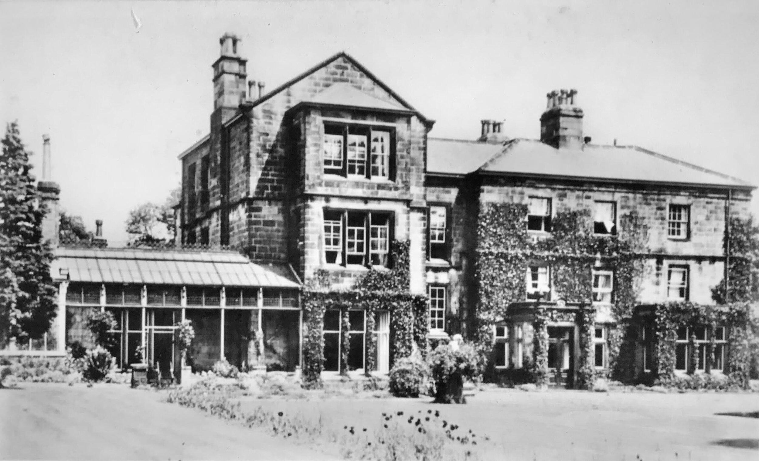 25  Weetwood Hall, 1927