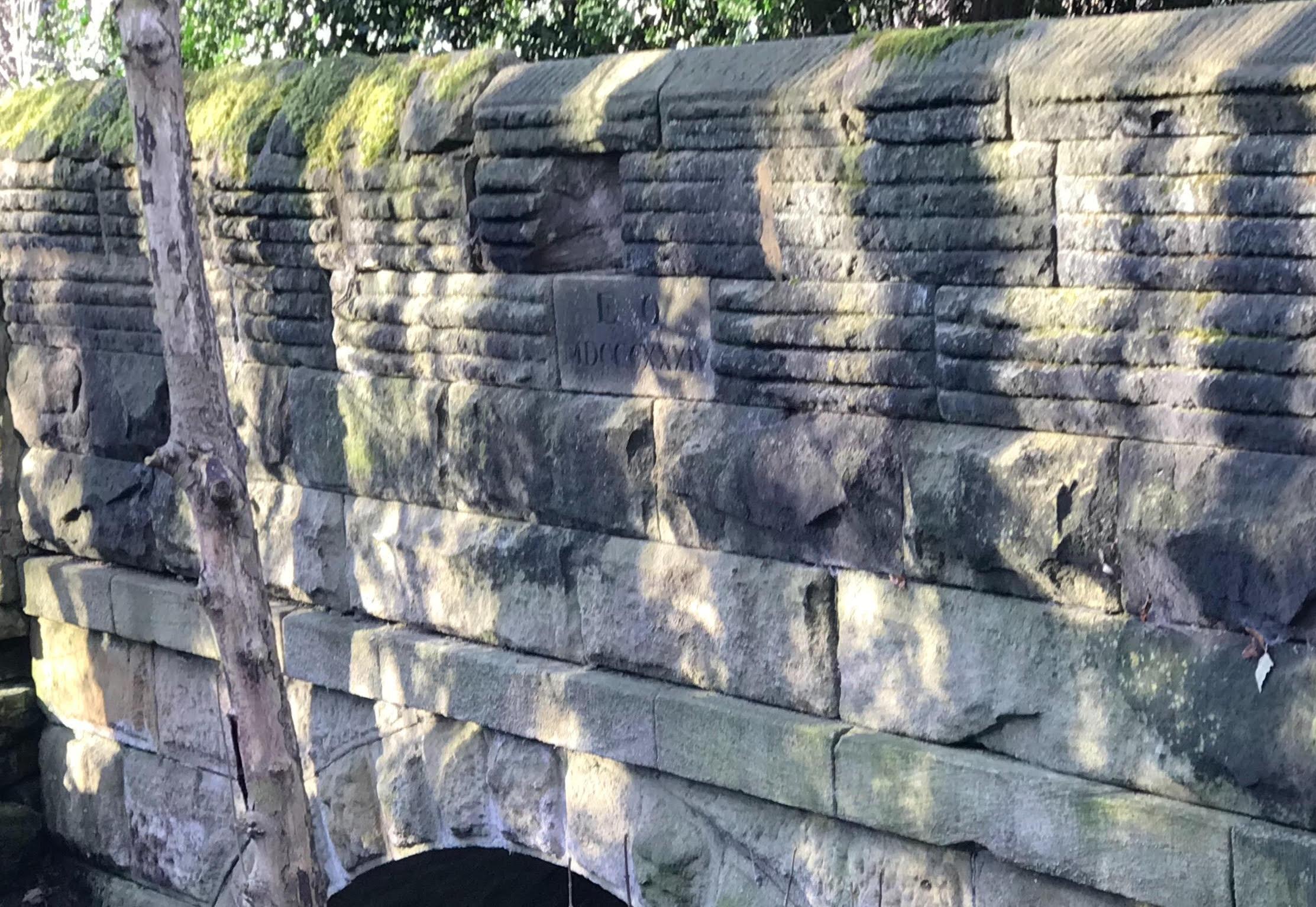 Carriage Bridge, Meanwood Park © HP