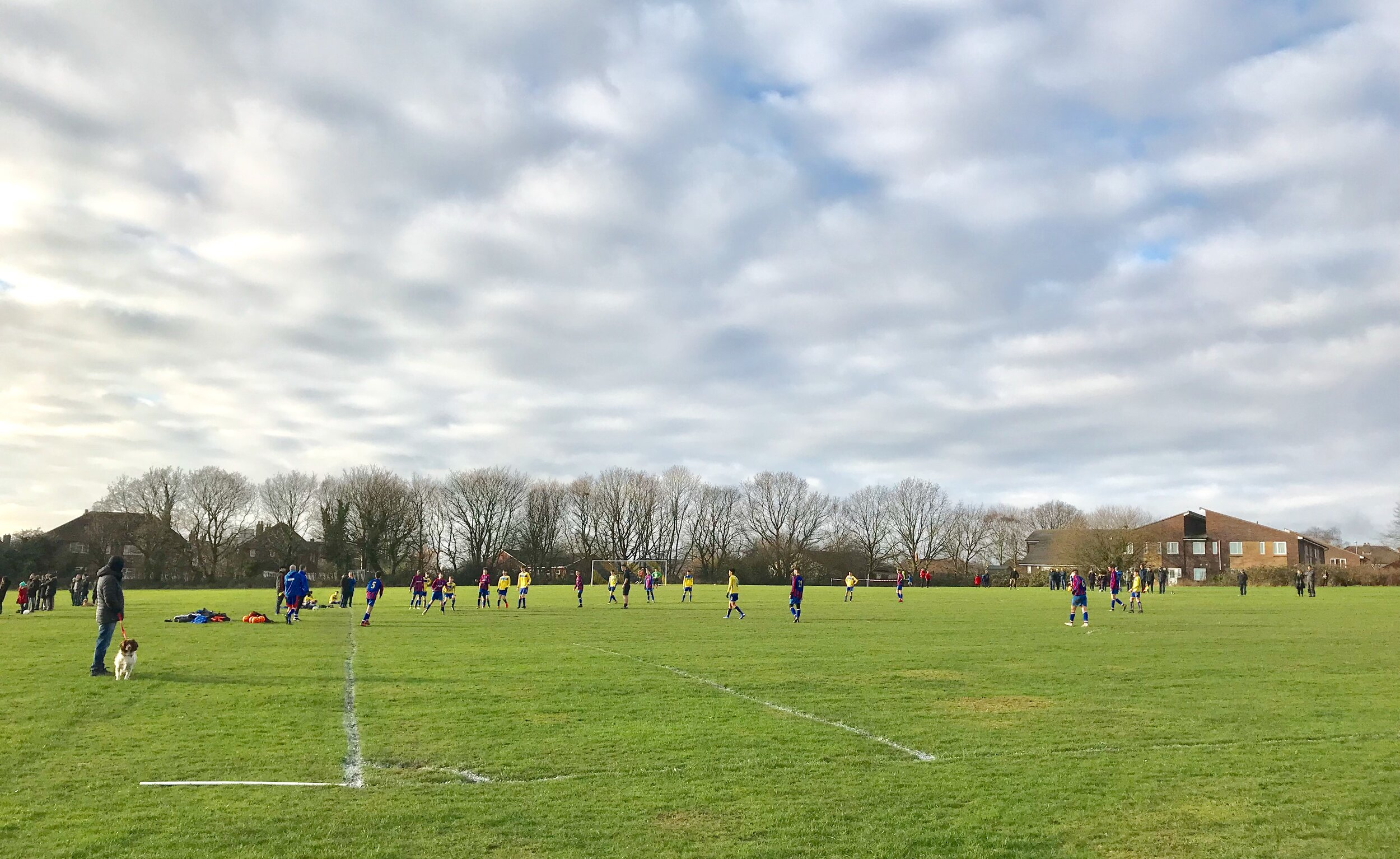 Football on West Park Fields © HP