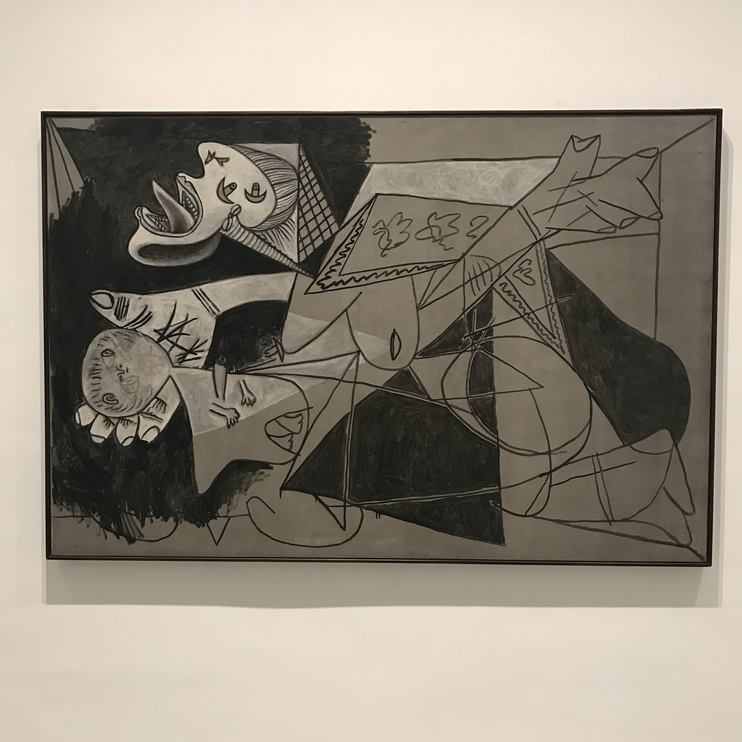 Mother with Child (Guernica excerpt) - Pablo Picasso