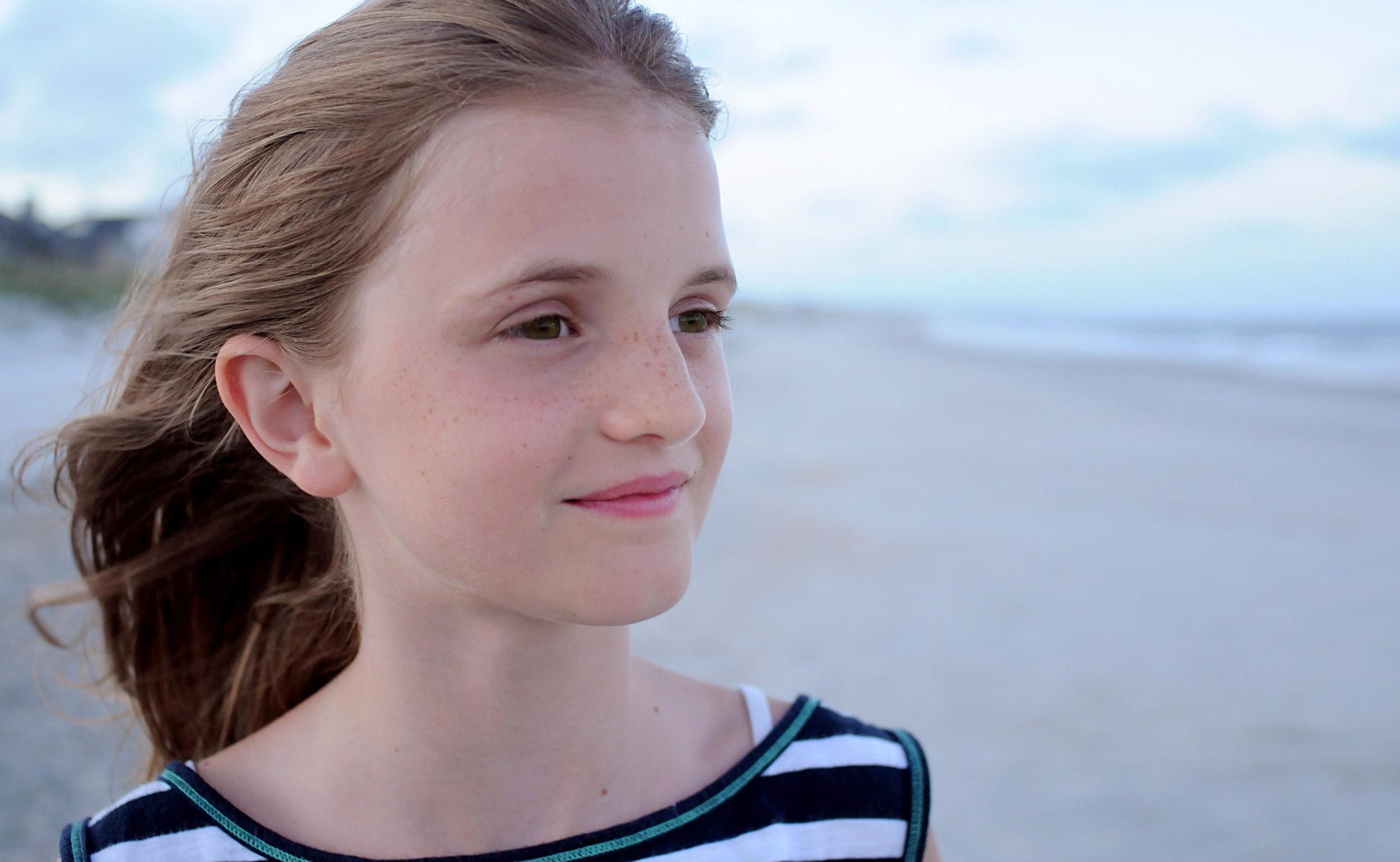 Julia, age 9 - Nina, Julia's mom, wrote: