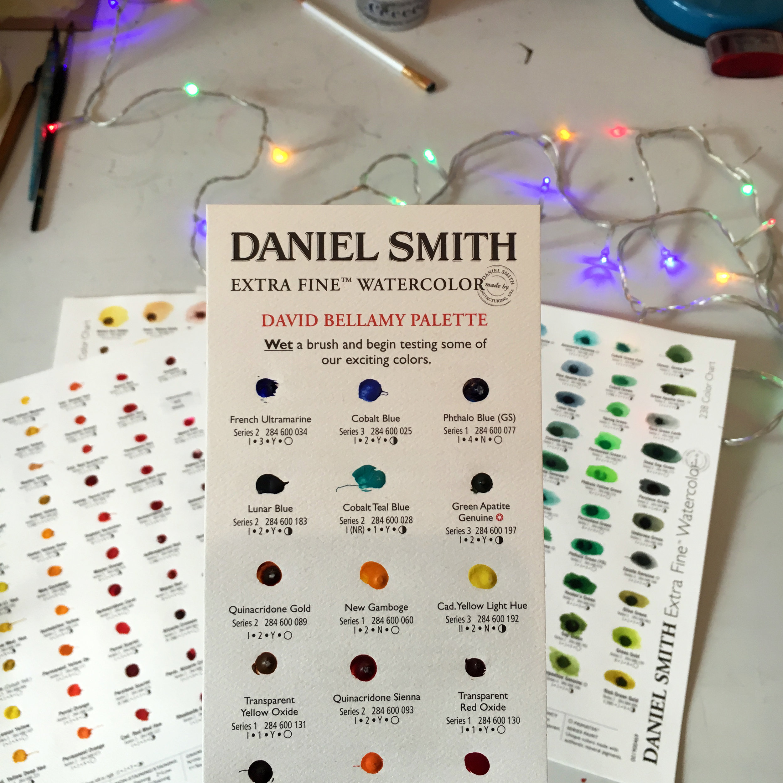 Daniel Smith Dot Cards