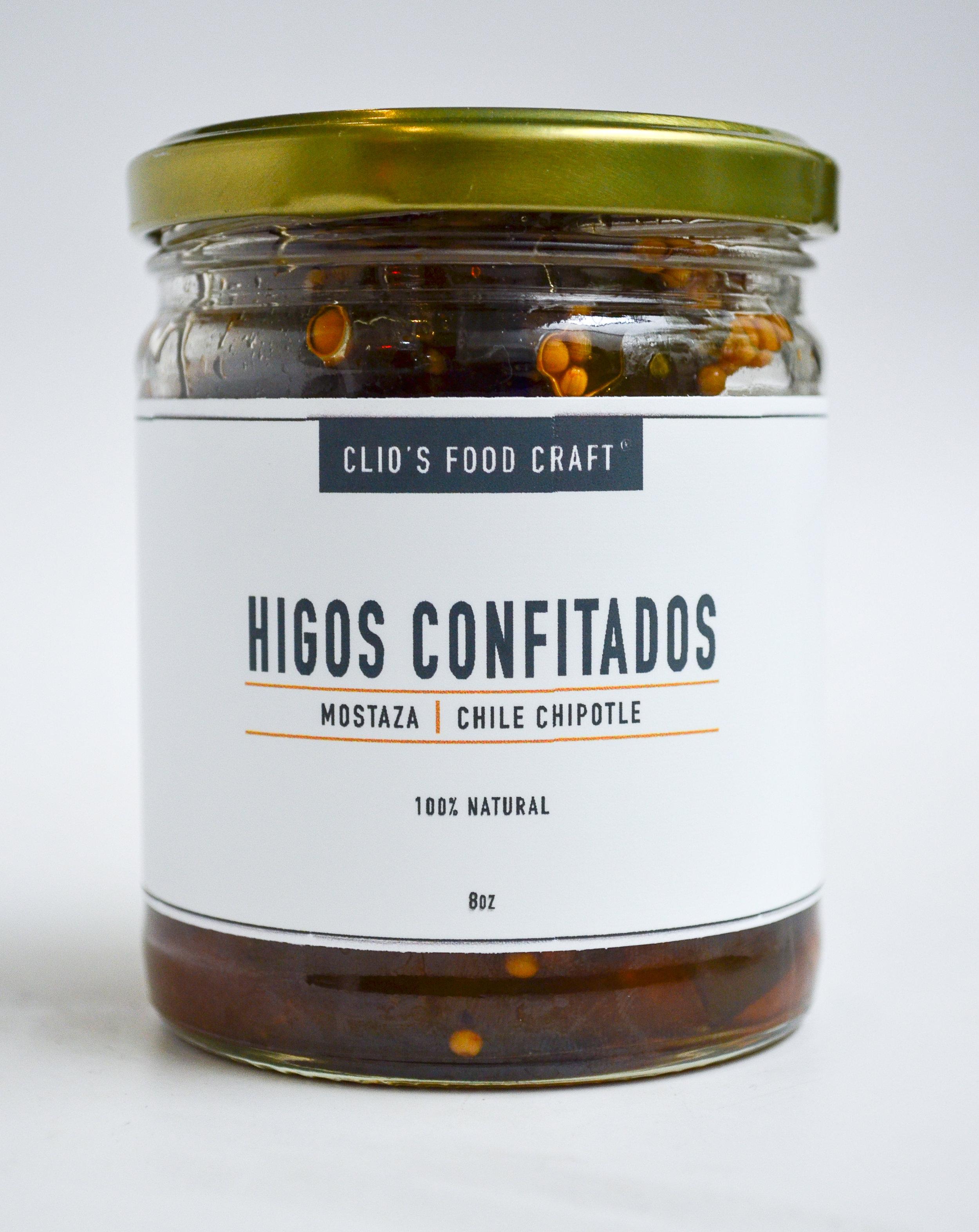 HIGOS CONFITADOS - Q.45   8oz