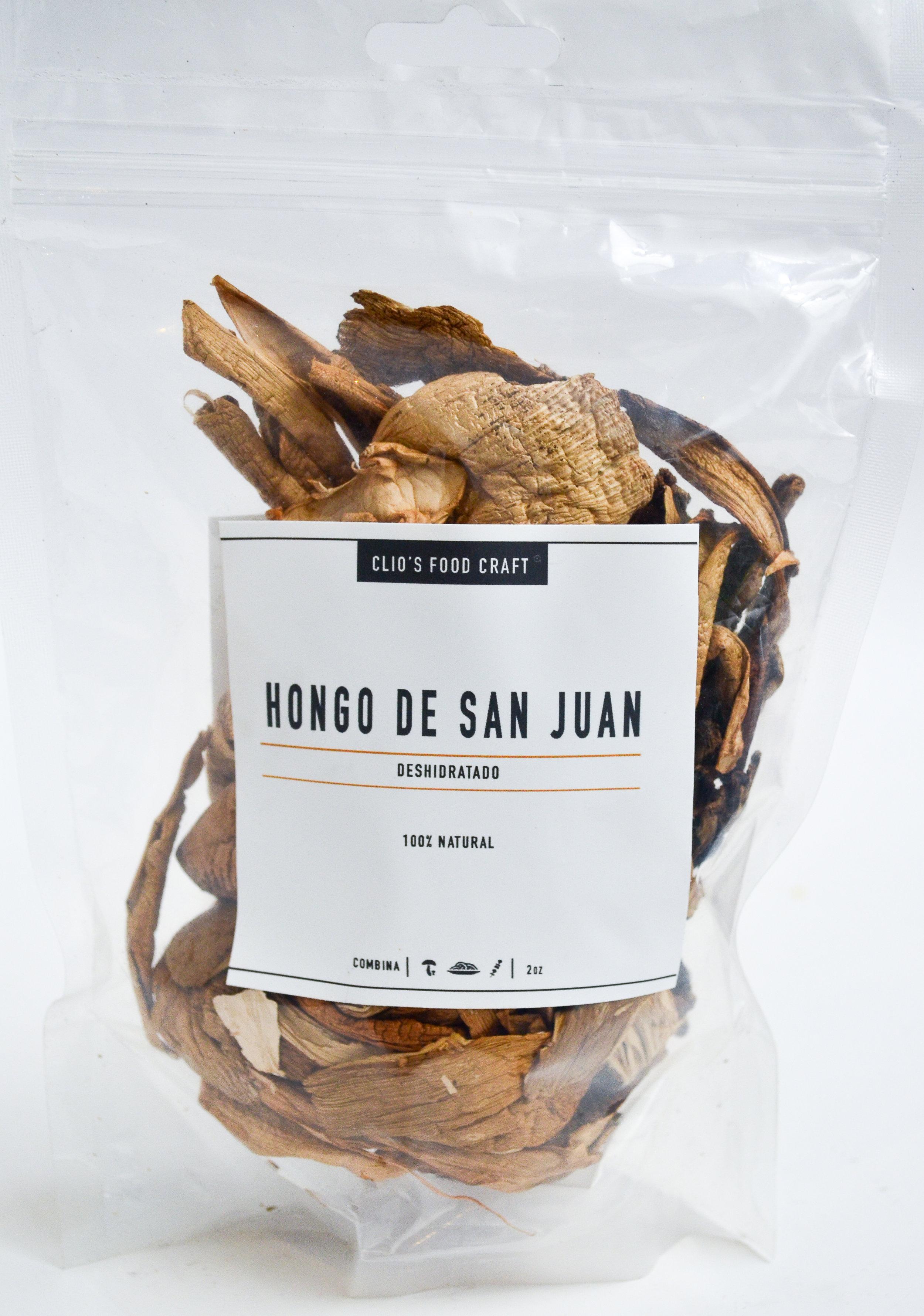 HONGOS DE SAN JUAN DEHIDRATADO - Q.75   2oz
