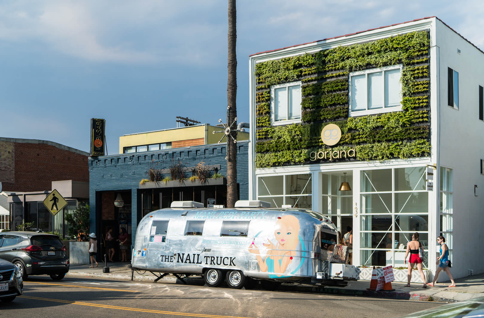 Exterior Living Wall by Suite Plants - Venice Beach, California