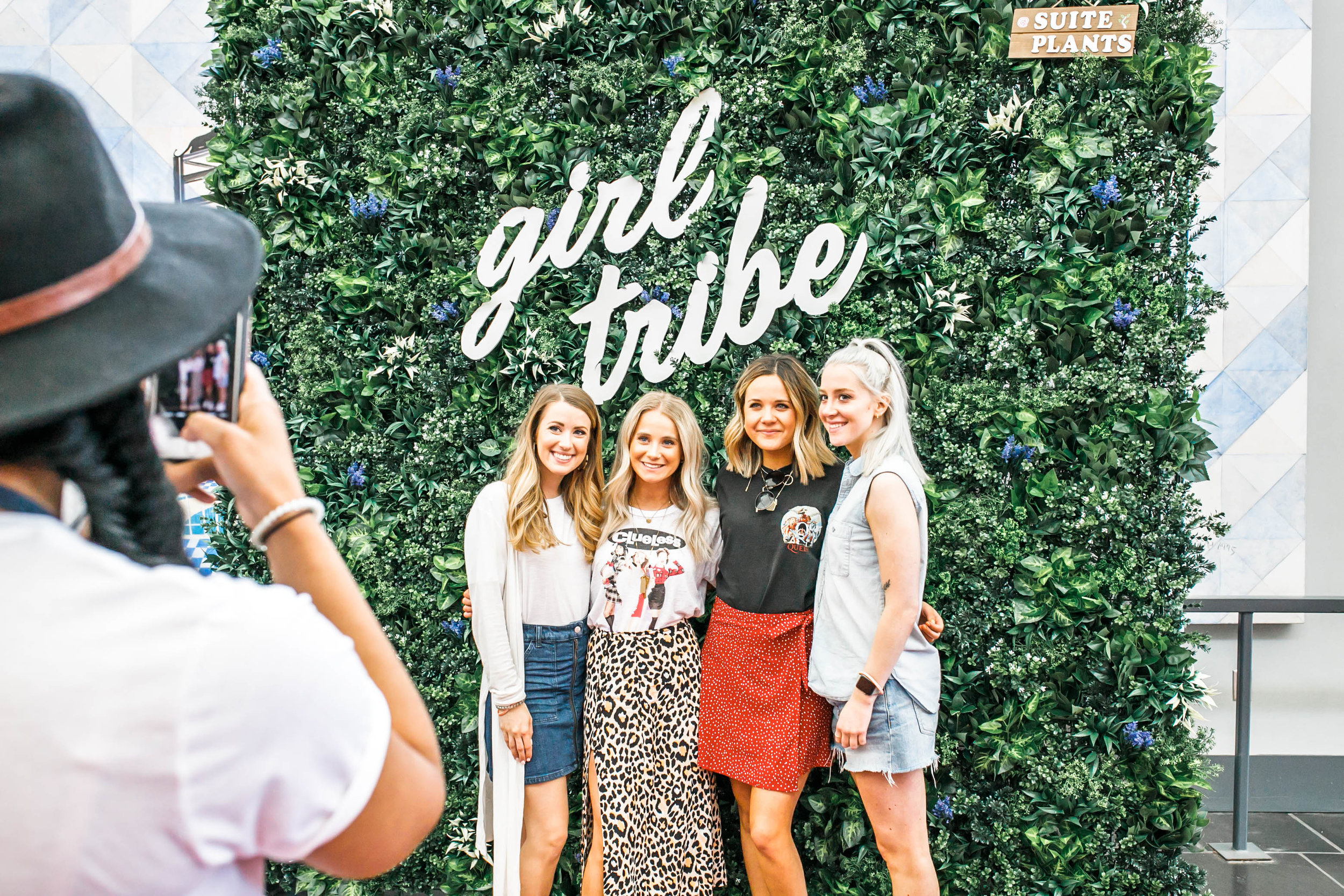 ALW Event Wall - Girl Tribe Pop-Up