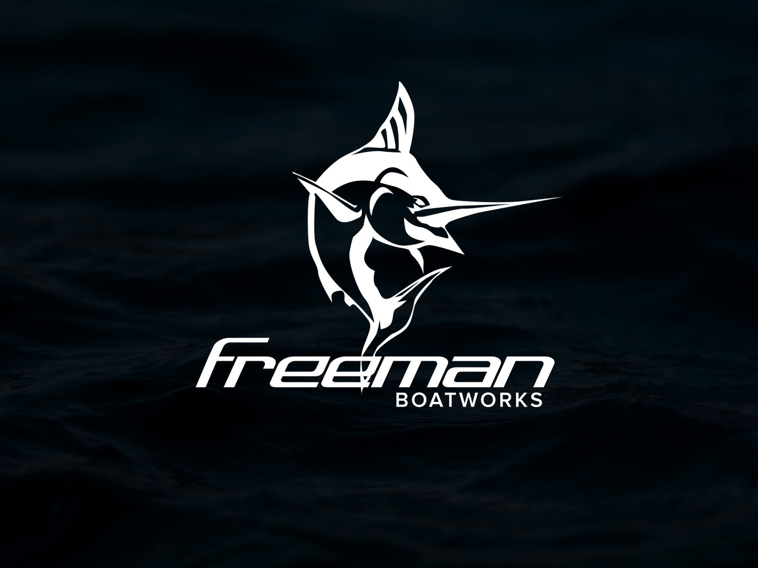 Freeman Boatworks - Website | Mock Ups | Apparel | Media