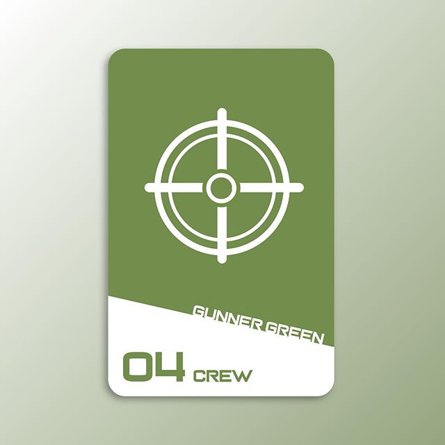 Sci-Fi Clue card 10. Introducing one of our Crew Members in this space murder mystery. Gunner Green.  #design #graphicdesign #designer #game #clue #card #visualdesign #icon #icondesign #scifi #uxdesigner #uidesigner