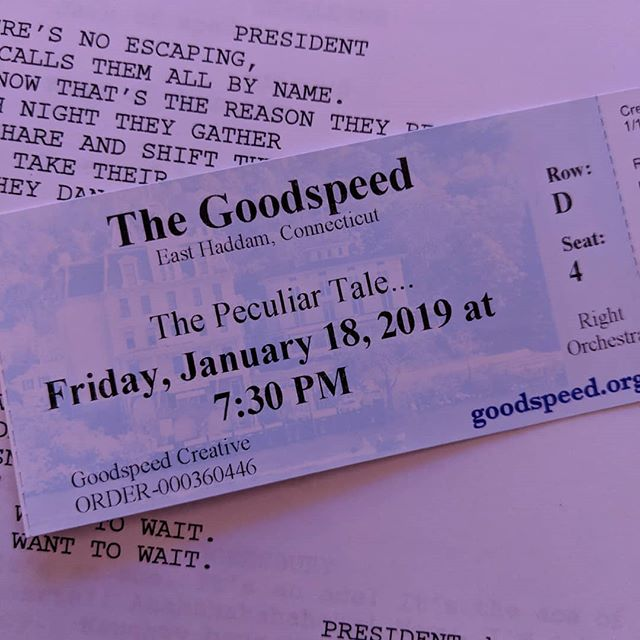 It was thrilling to see our musical The Peculiar Tale of the Prince of Bohemia and the Society of Desperate Victorians last night! Huge thanks to @goodspeedmusicals for the opportunity and to everyone who made it out to see the show! . . . #fnm14#goodspeedmusicals#goodspeedoperahouse#newmusicaltheatre #newmusicals#composer#composerlife #peculiartale#musicaltheatrewriters #goodspeed#festivalofnewmusicals #goodspeedfest2019