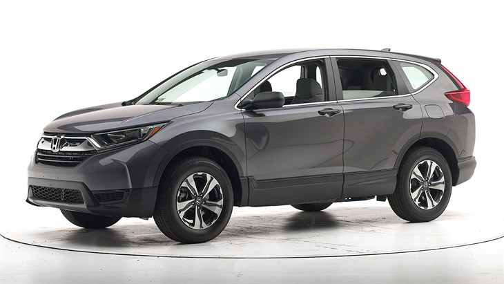 2018 Honda CR-V - with optional front crash prevention and specific headlights