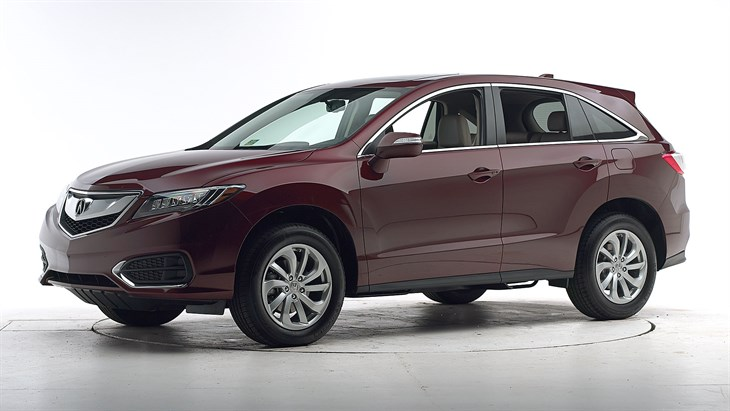 2018 Acura RDX - with optional front crash prevention