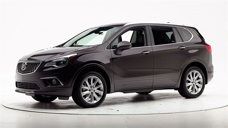 2018 Buick Envision - with optional front crash prevention and specific headlights