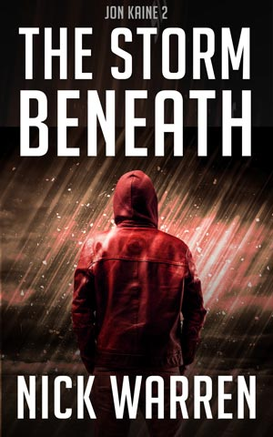 Jon Kaine 2 is scheduled for publication in the summer of 2018. Its working title is  The Storm Beneath .