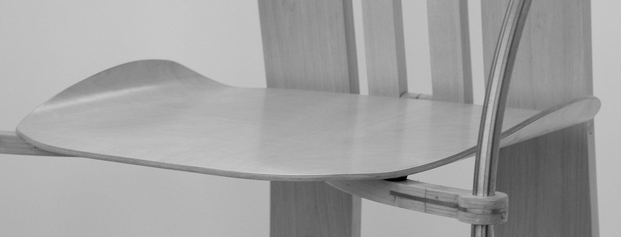 Kurva Chair seat detail