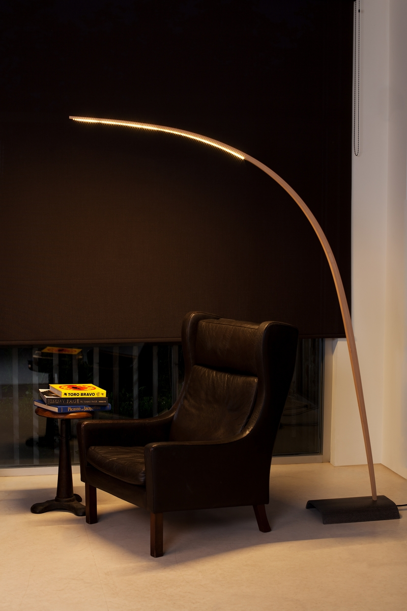 Bow Lamp in situe