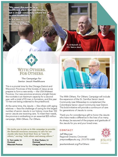 Contact Jeff Meyrose  Regional Director, Cincinnati jmeyrose@jesuits.org | 513.751.6688