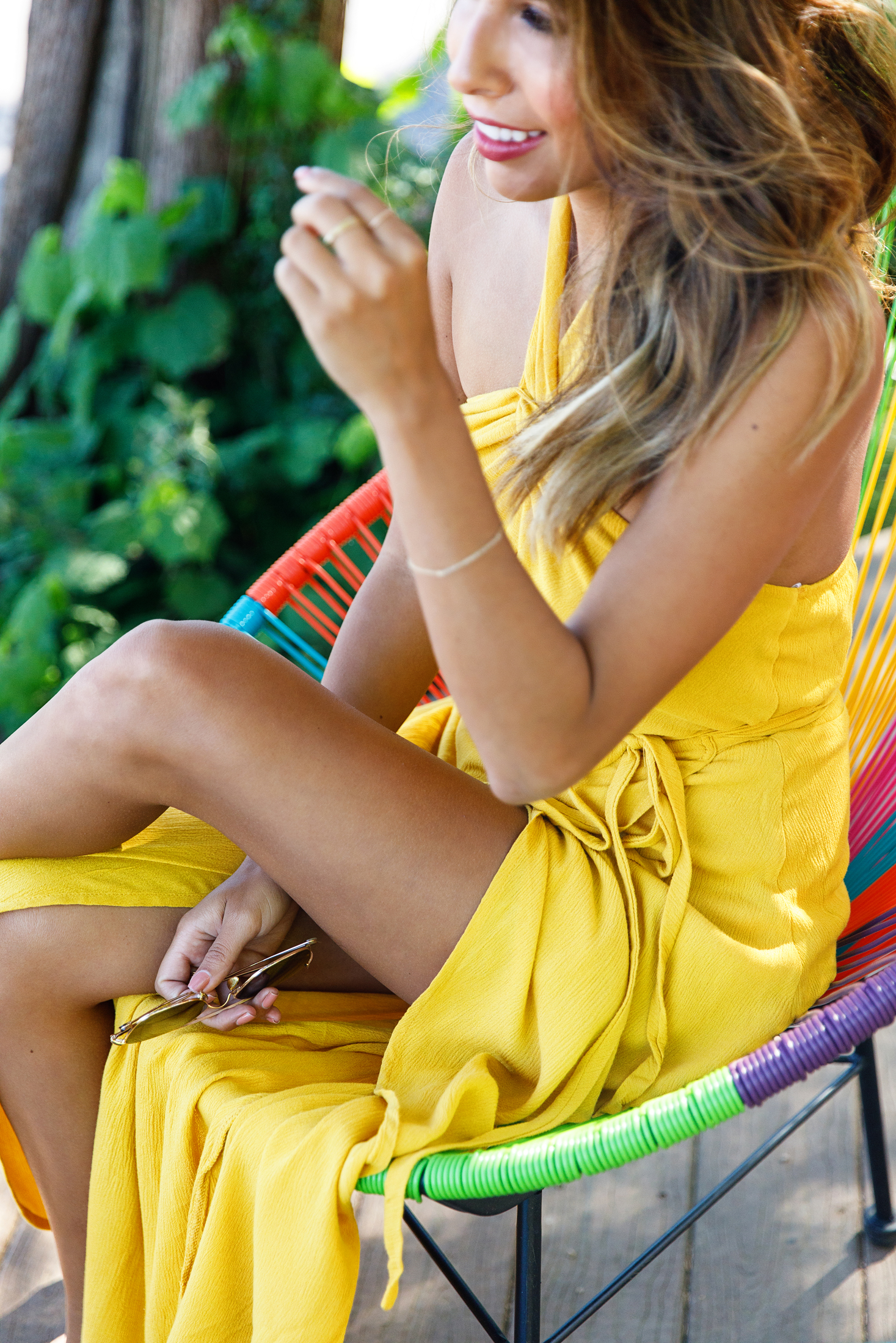 how to wear yellow, yellow summer dresses