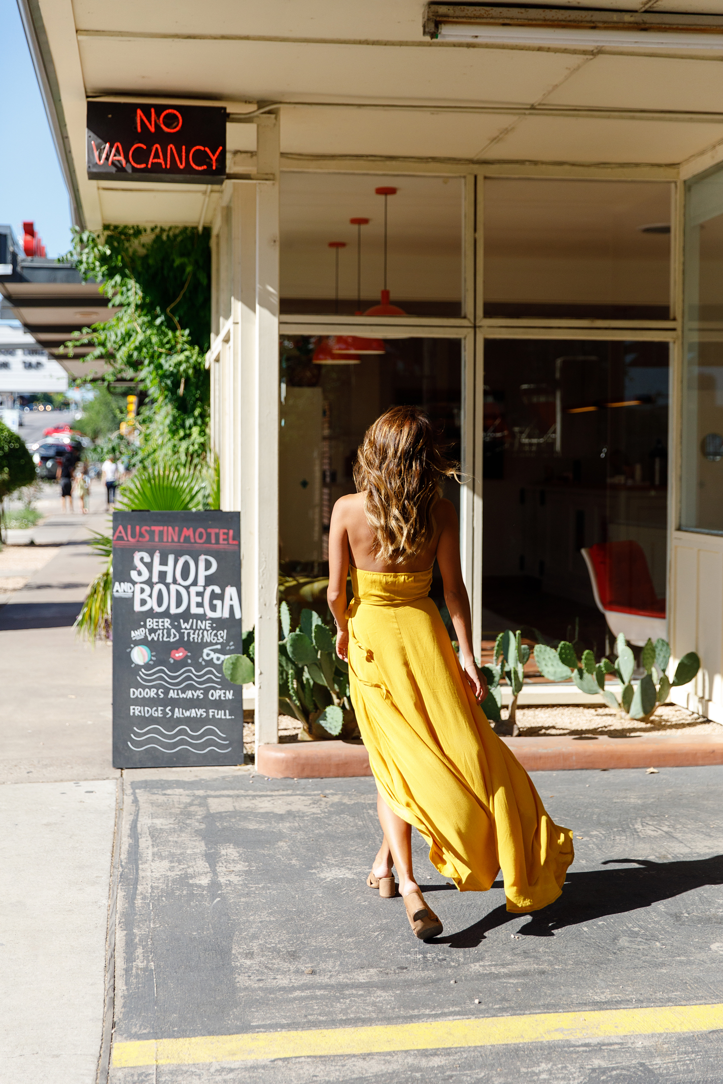 how to wear a yellow dress, what to wear in austin, summer trend
