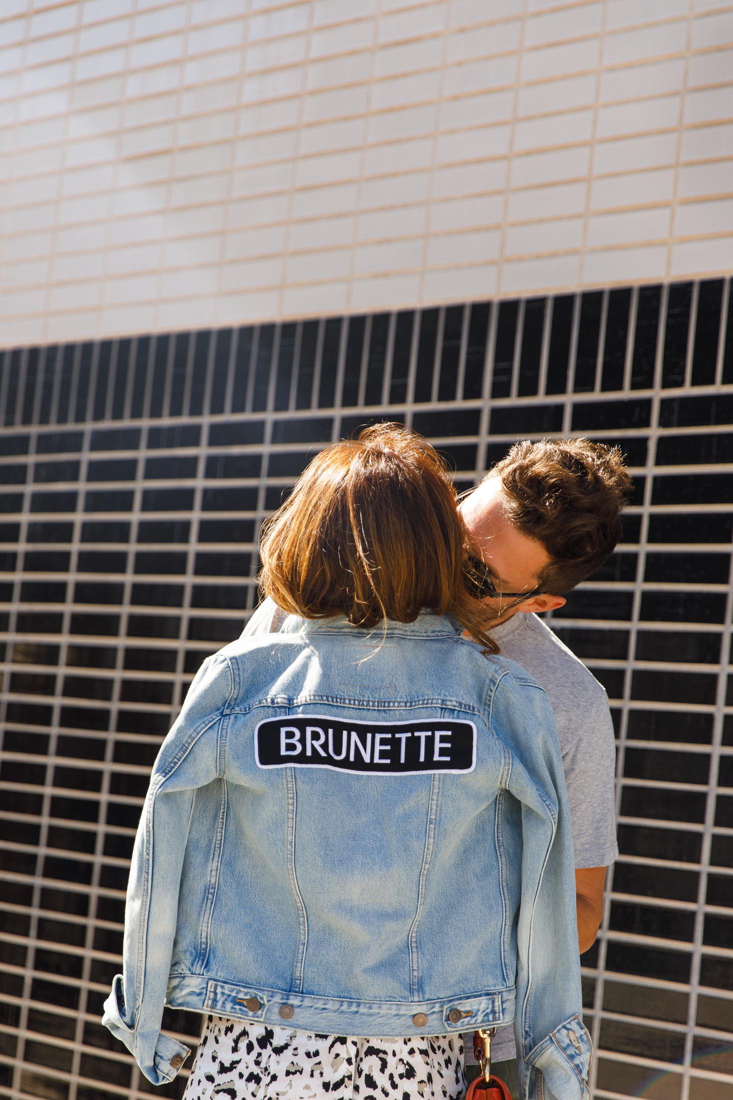 brunette the label, the best denim jacket, patched jackets, everyday pursuits
