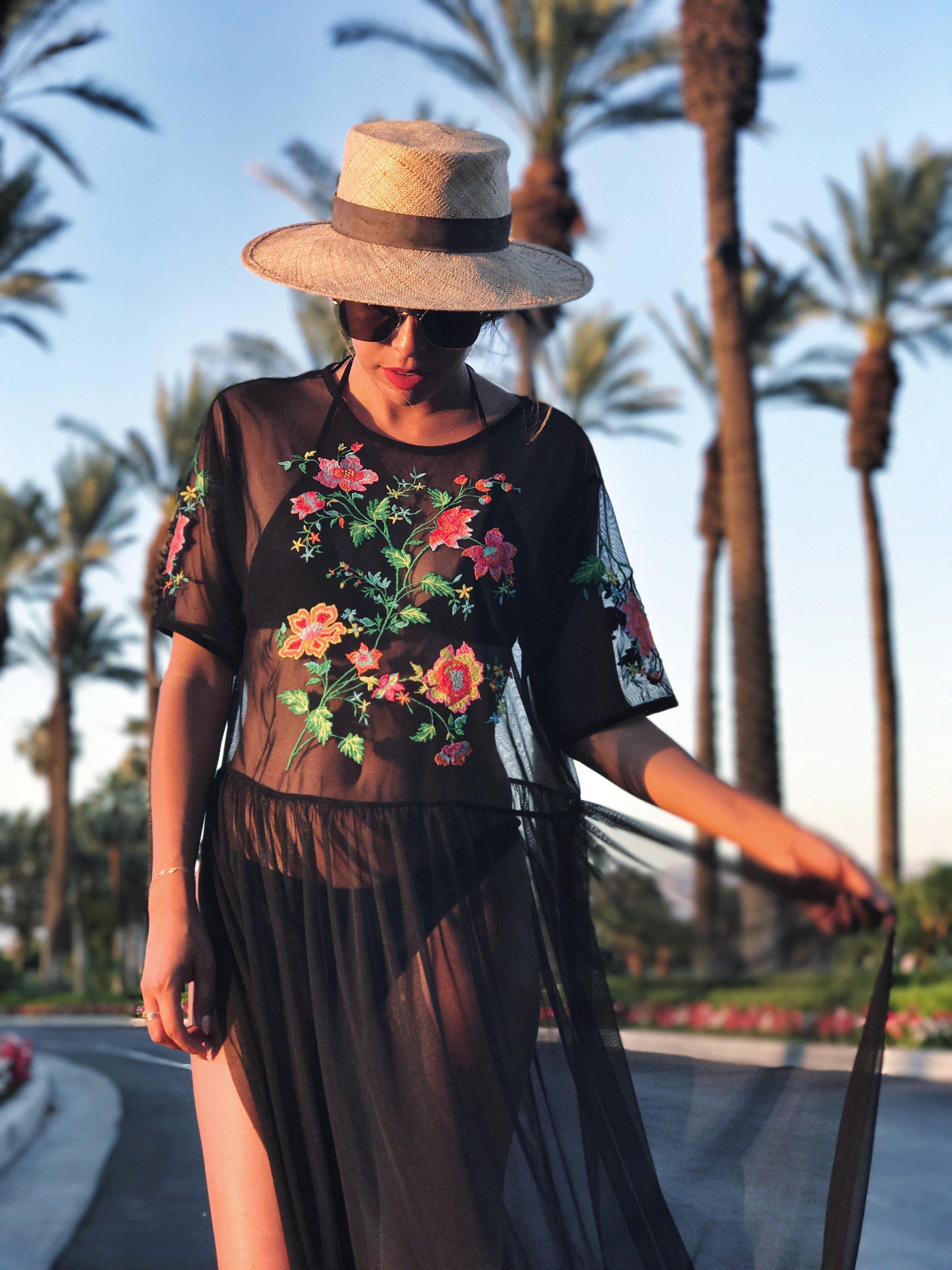 Zara coverup, Palm Desert