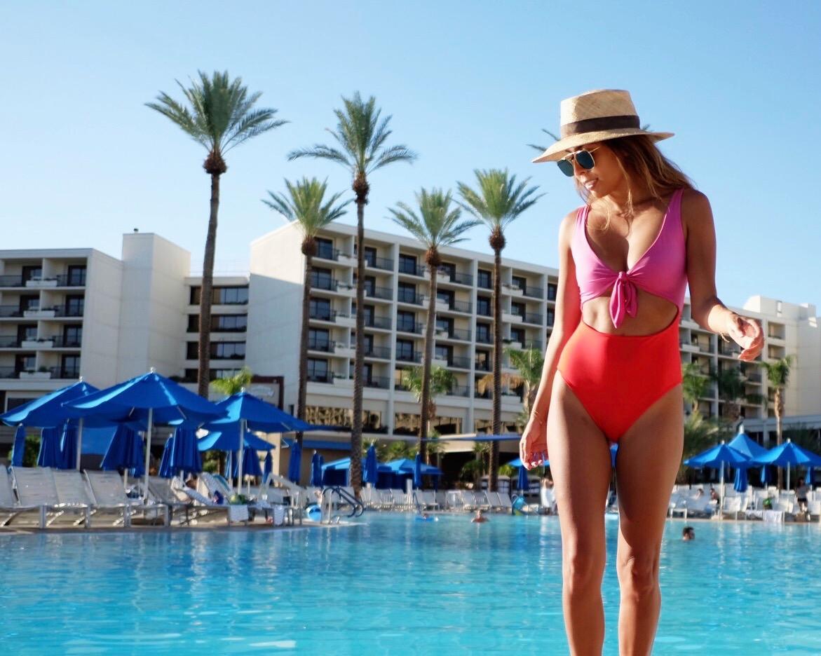 Poolside at JW Palm Desert