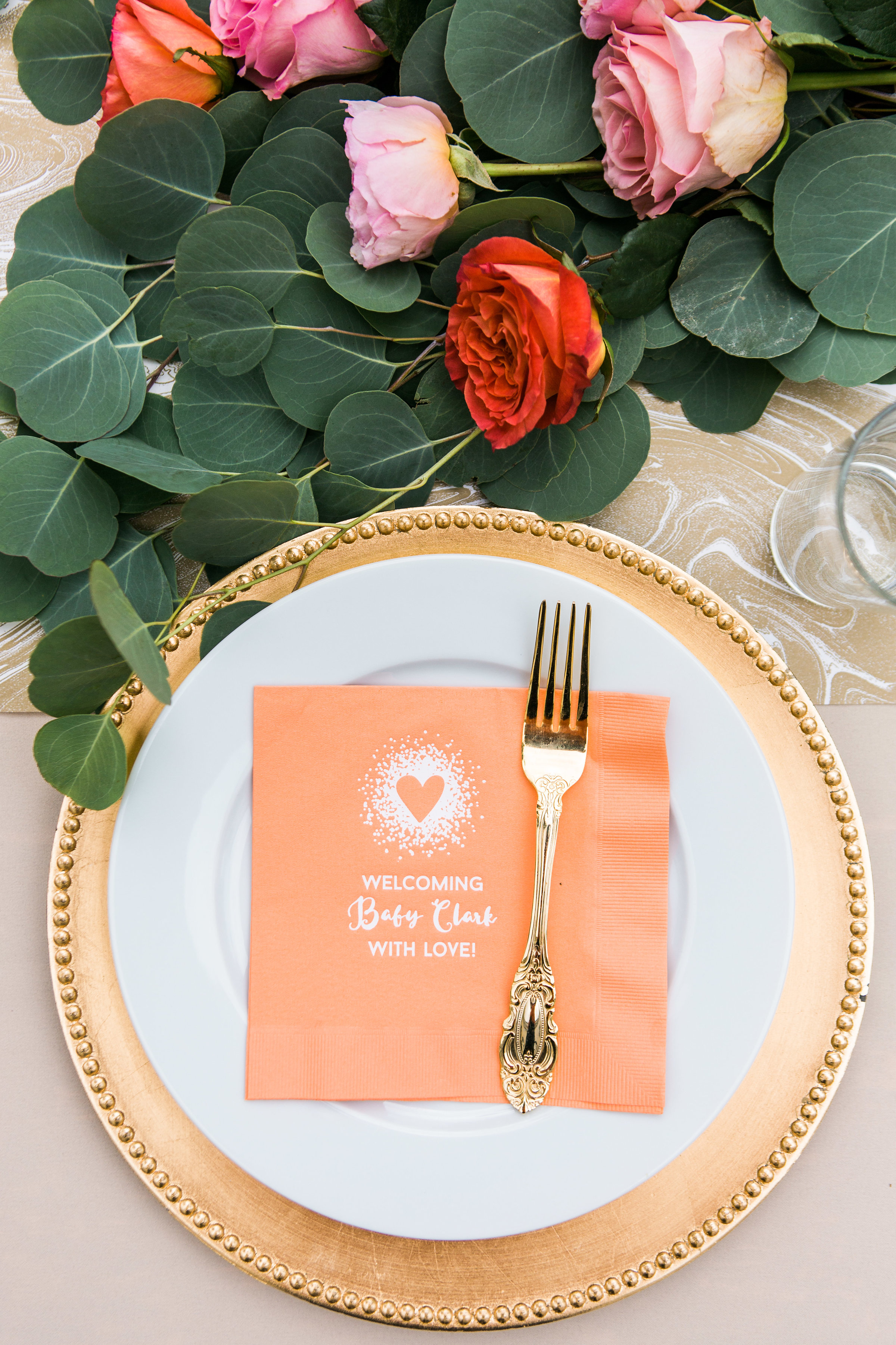for your party custom napkins