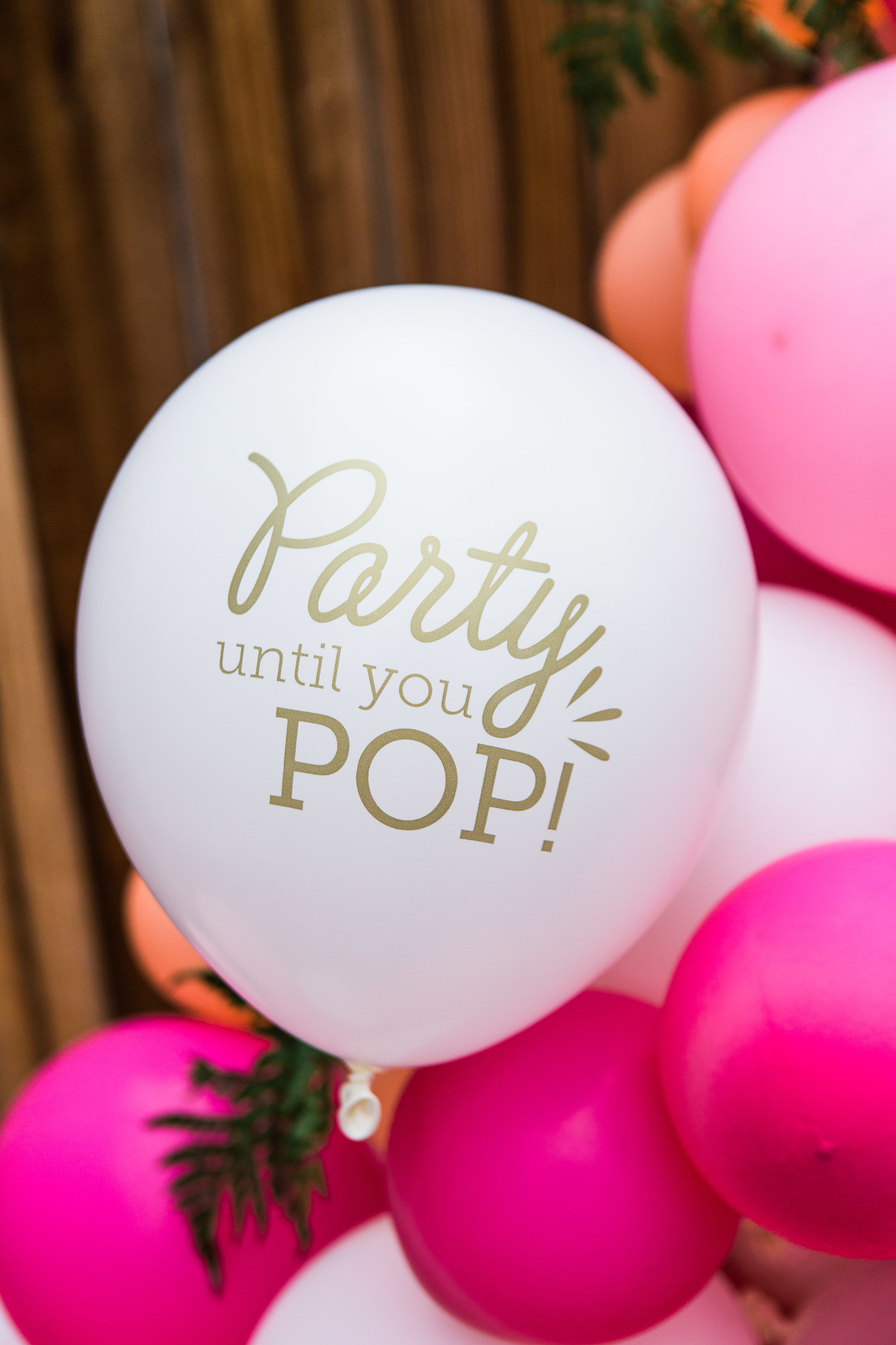 Baby Shower Decor: For Your Party Balloons