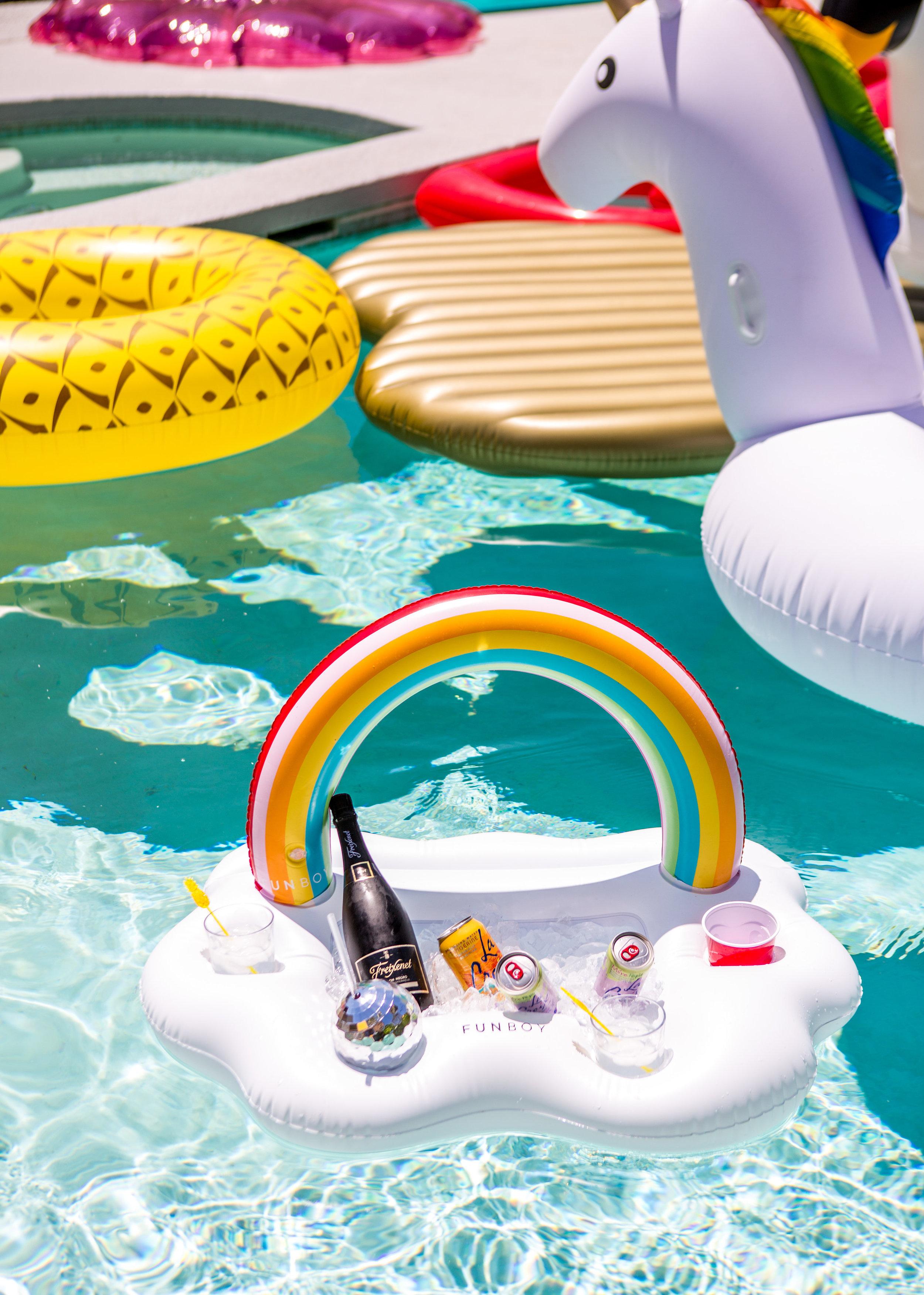 Funboy Rainbow Ice Chest Float
