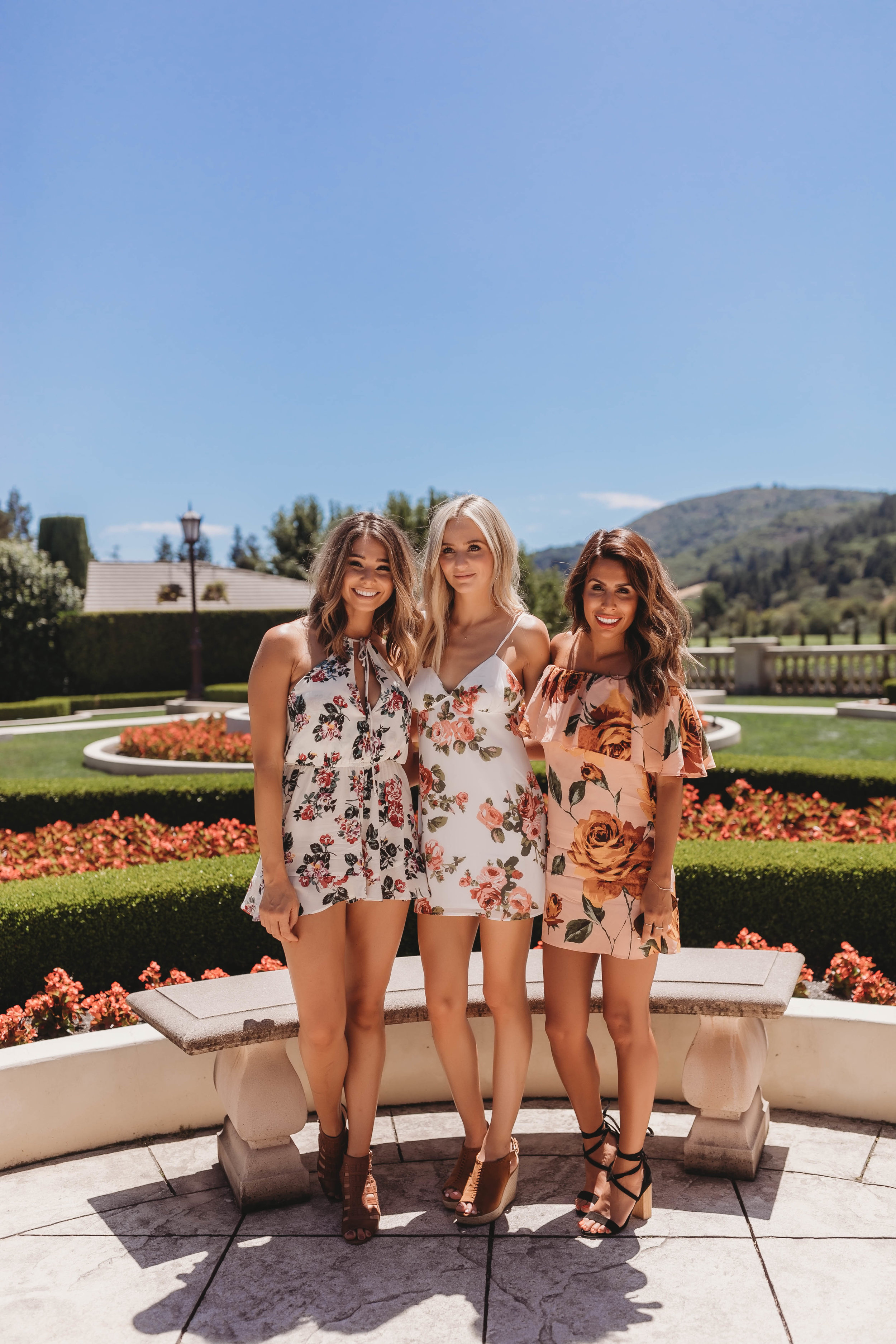 Bachelor Babes Sarah Vendal and Lauren Bushnell in Wine Country with Everyday Pursuit
