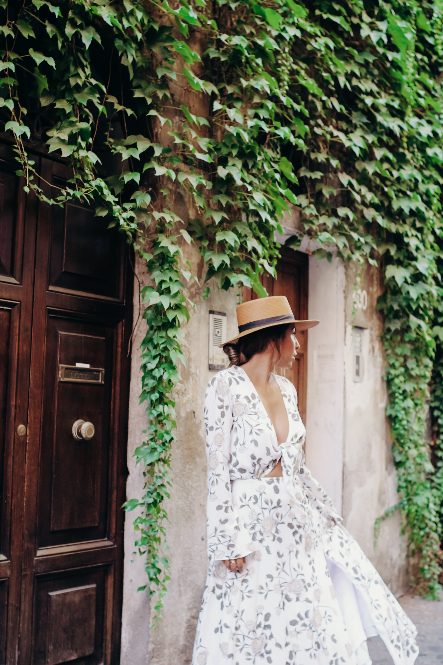 packing for Europe in the Summer, Fame + Partners dress, Ashley Torres Everyday Pursuits