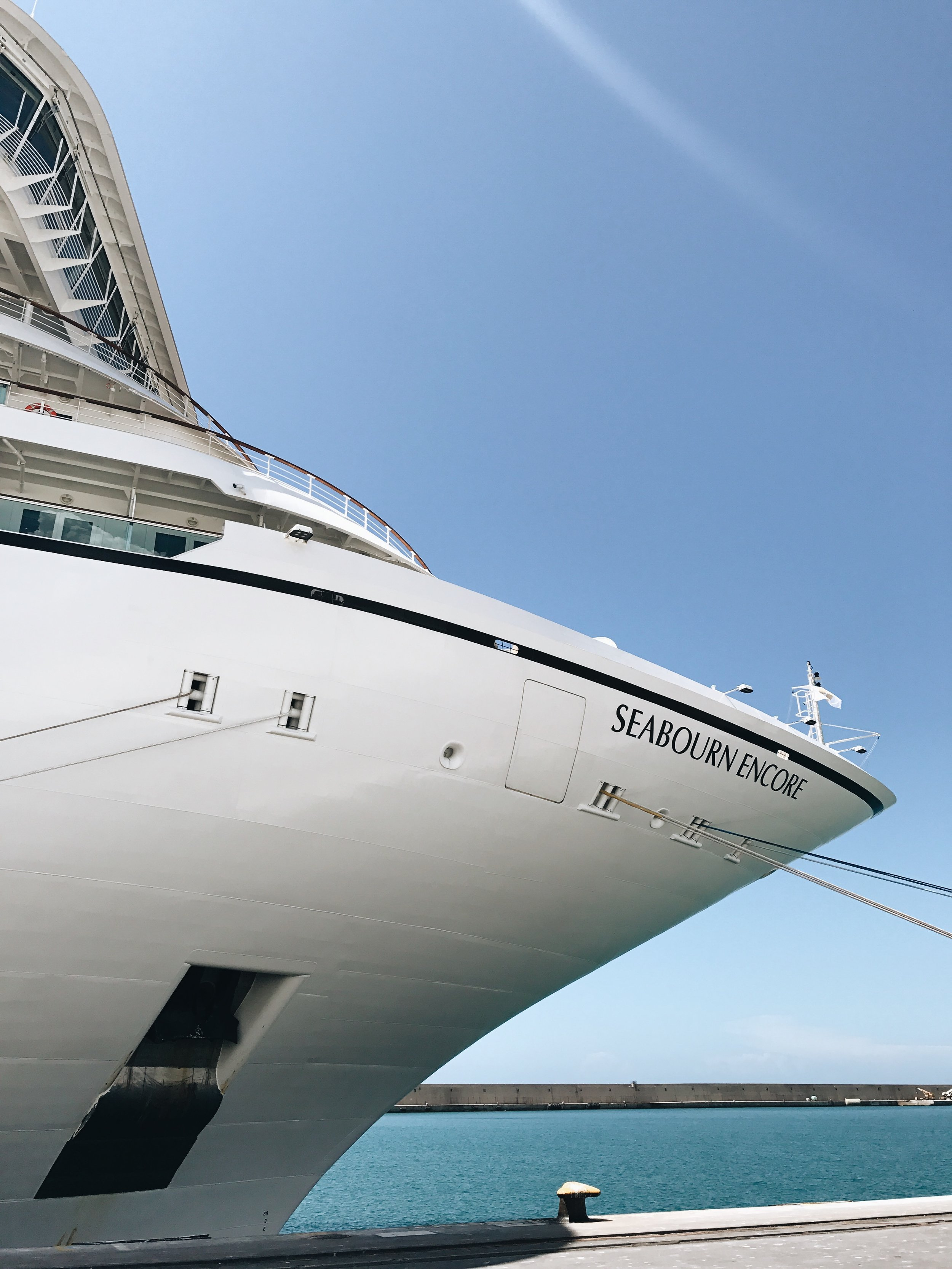 Seabourn Encore Cruise Mediterranean