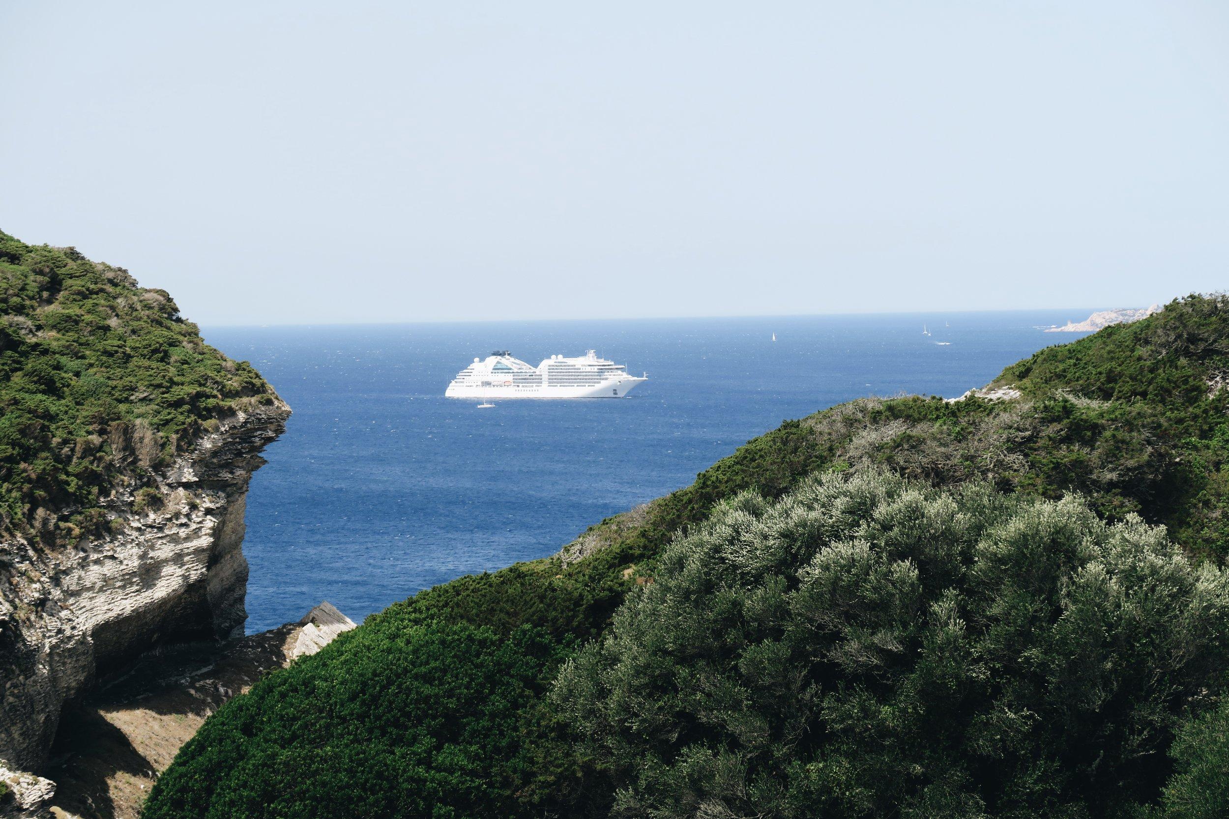 Seabourn Cruise at Corsica Port, Everyday Pursuits, #Pursuigoescruising