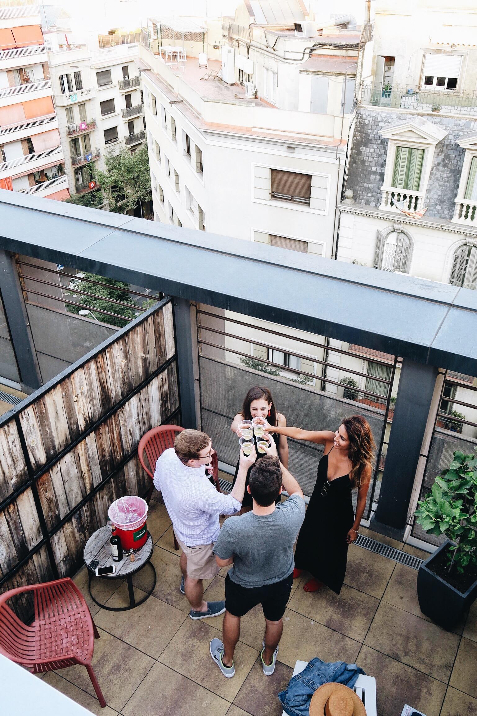 Generator Barcelona Balcony, Where to Stay in Spain
