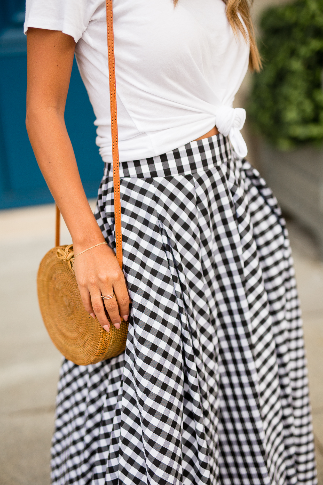 Place Vendome, Paris - what to wear in Paris, Gingham Skirt via Fame + Partners