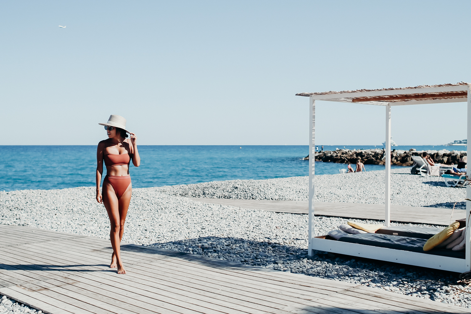 Antibes - South of France, Everyday Pursuits wearing L Space Ridin' high bikini