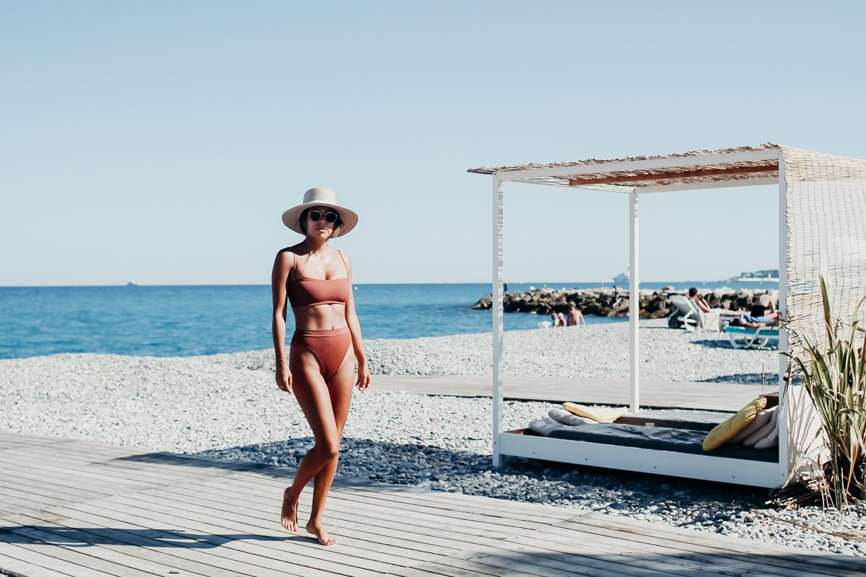 L Space High Waist Bikini, Everyday Pursuits in Antibes