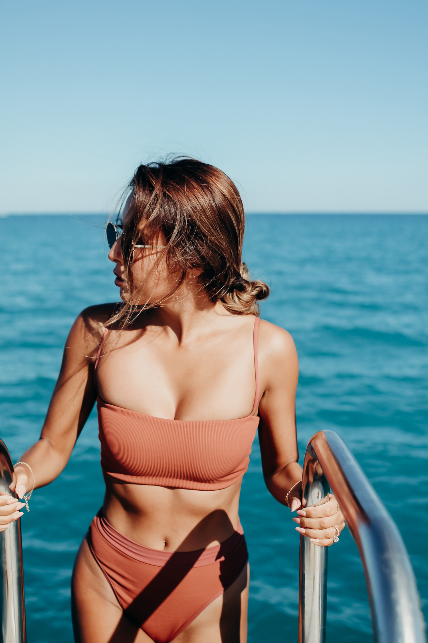 L Space high waist bikini, Everyday Pursuits in Antibes, France