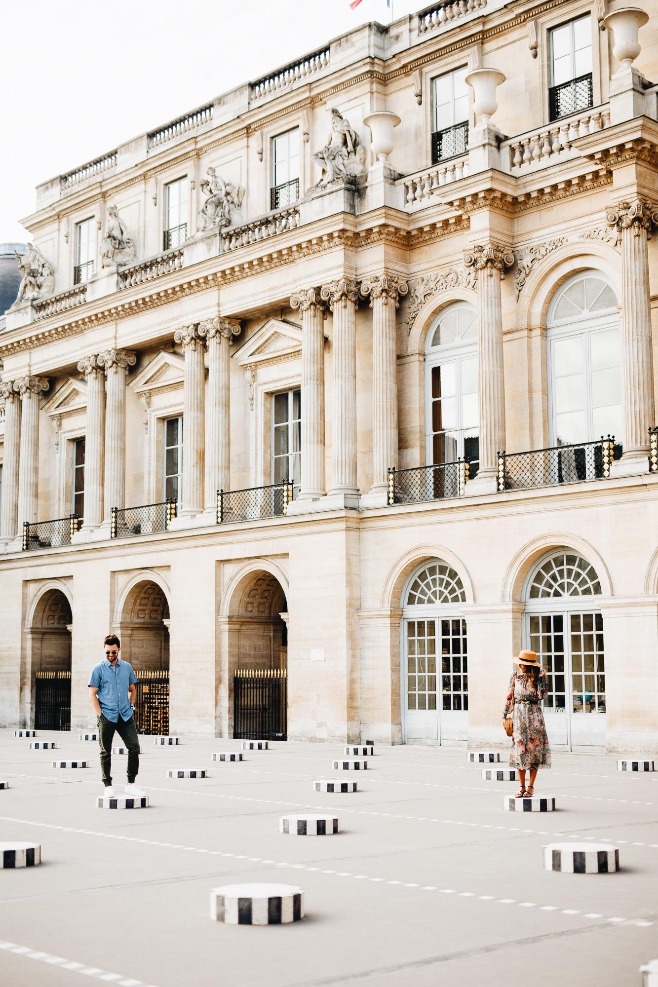 Palais Royale, Paris with Everyday Pursuits