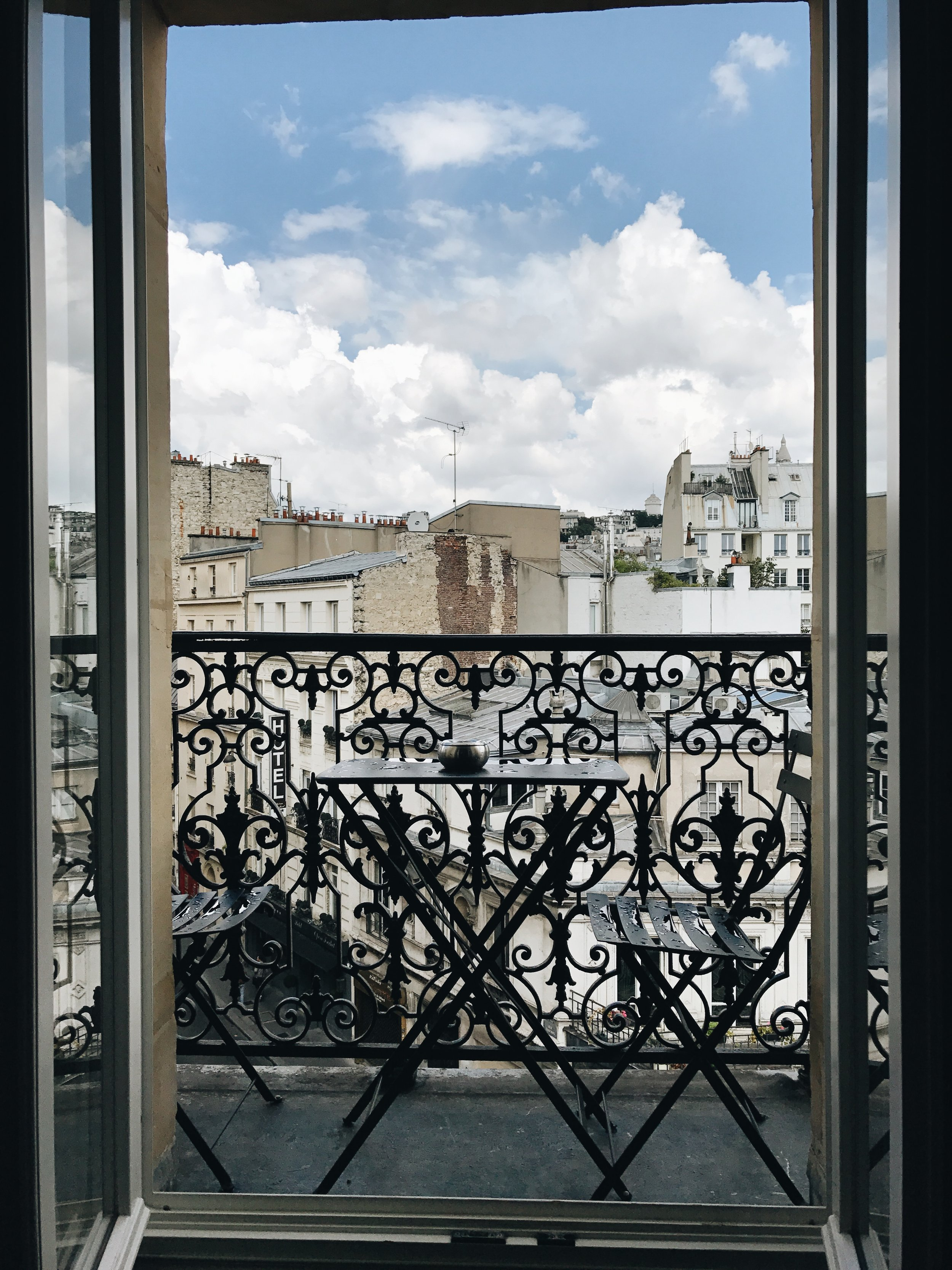Where to stay in Paris? View from Grand Pigalle, Paris