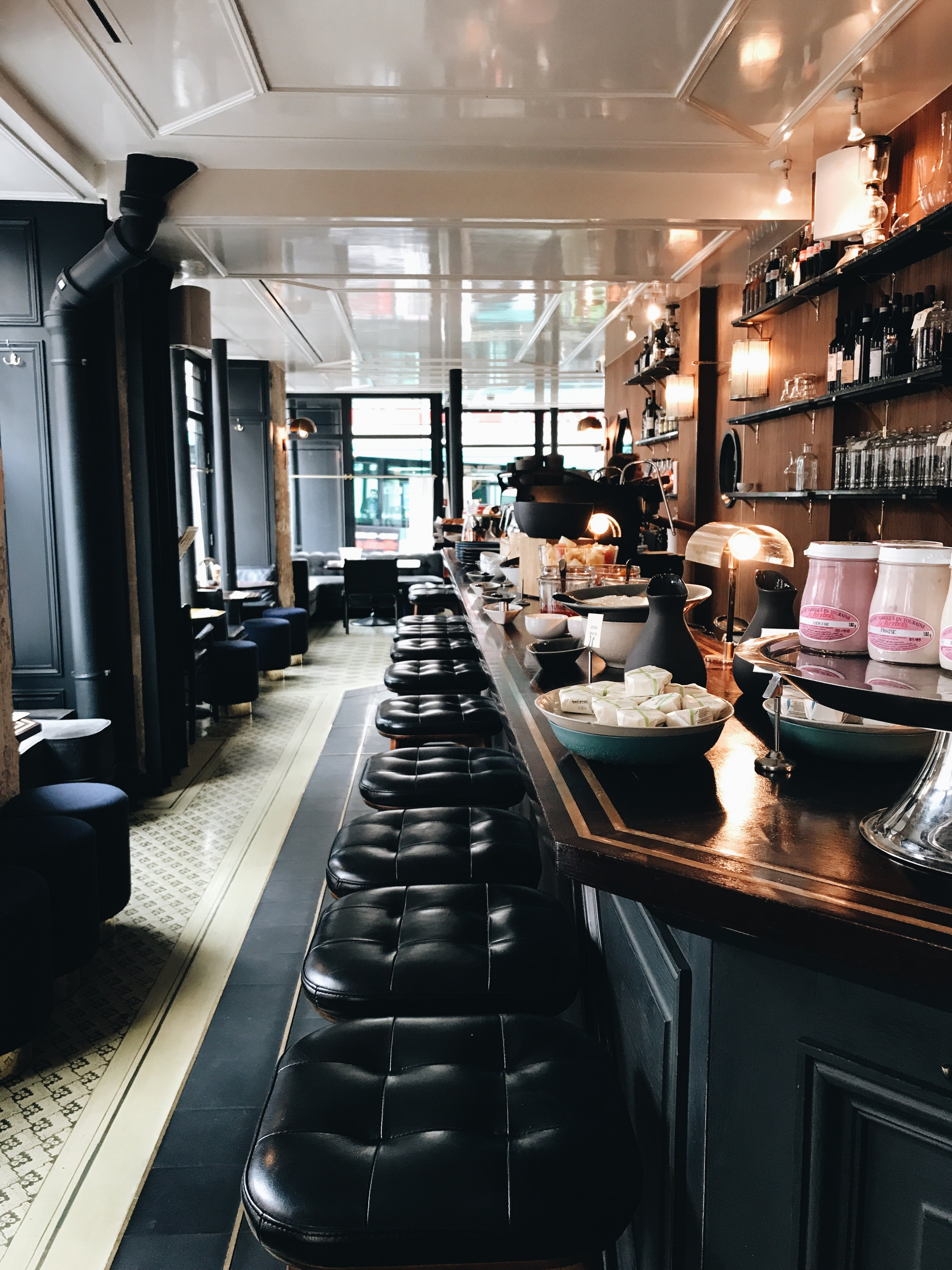 Bar at Hotel Grand Pigalle