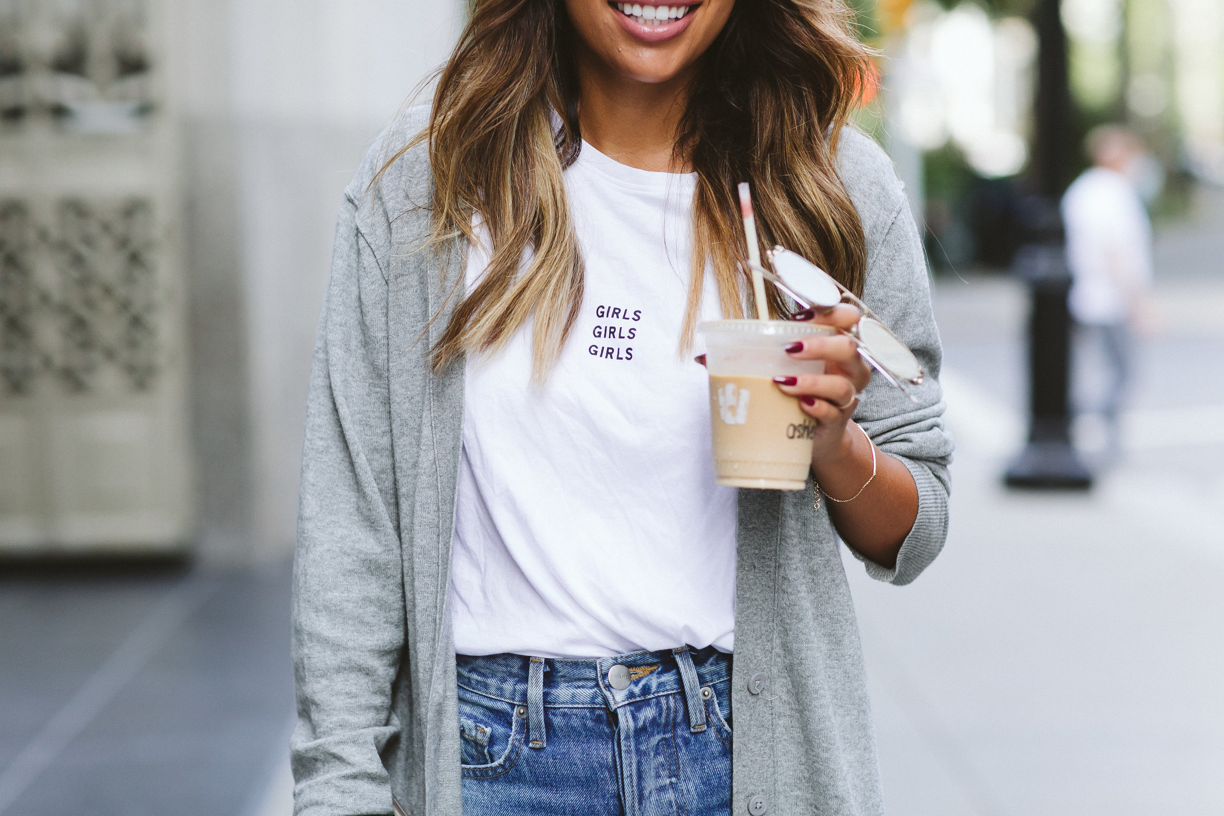 how to wear graphic tee, fall style inspiration