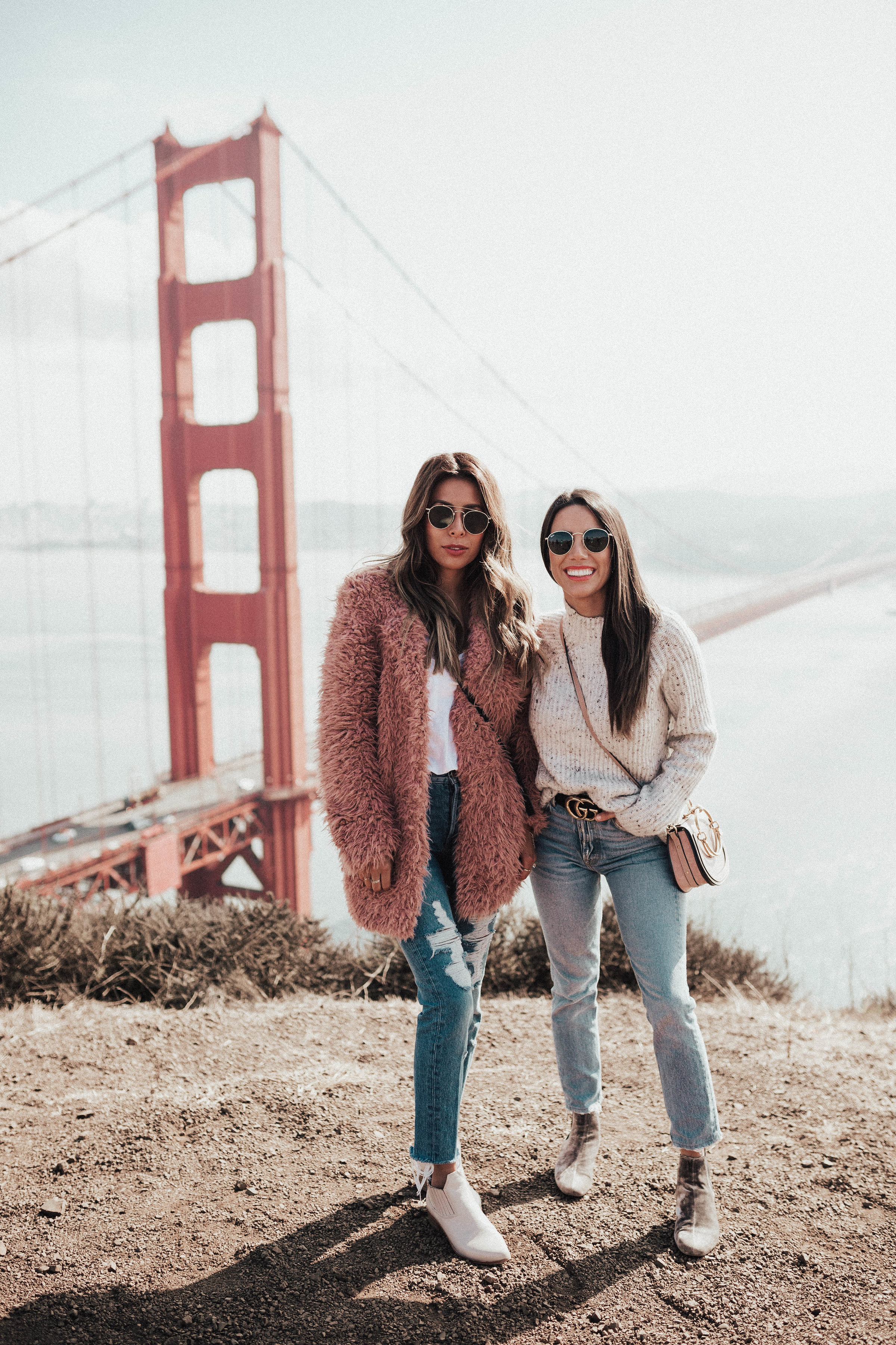 sweater weather in San Francisco with Arianna Lauren, fall outfit ideas