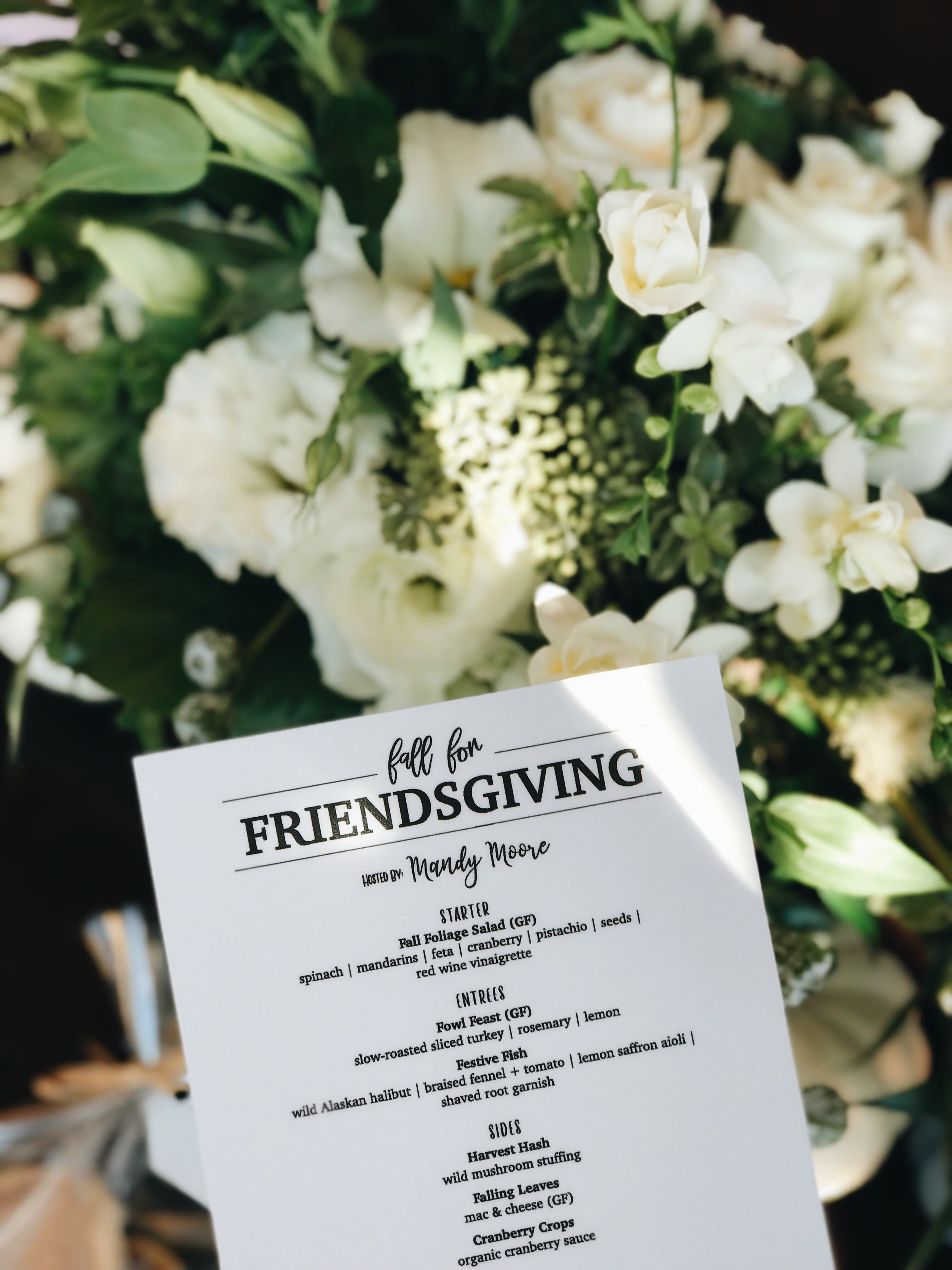 Friendsgiving with AMEX, Everyday Pursuit Ashley Torres