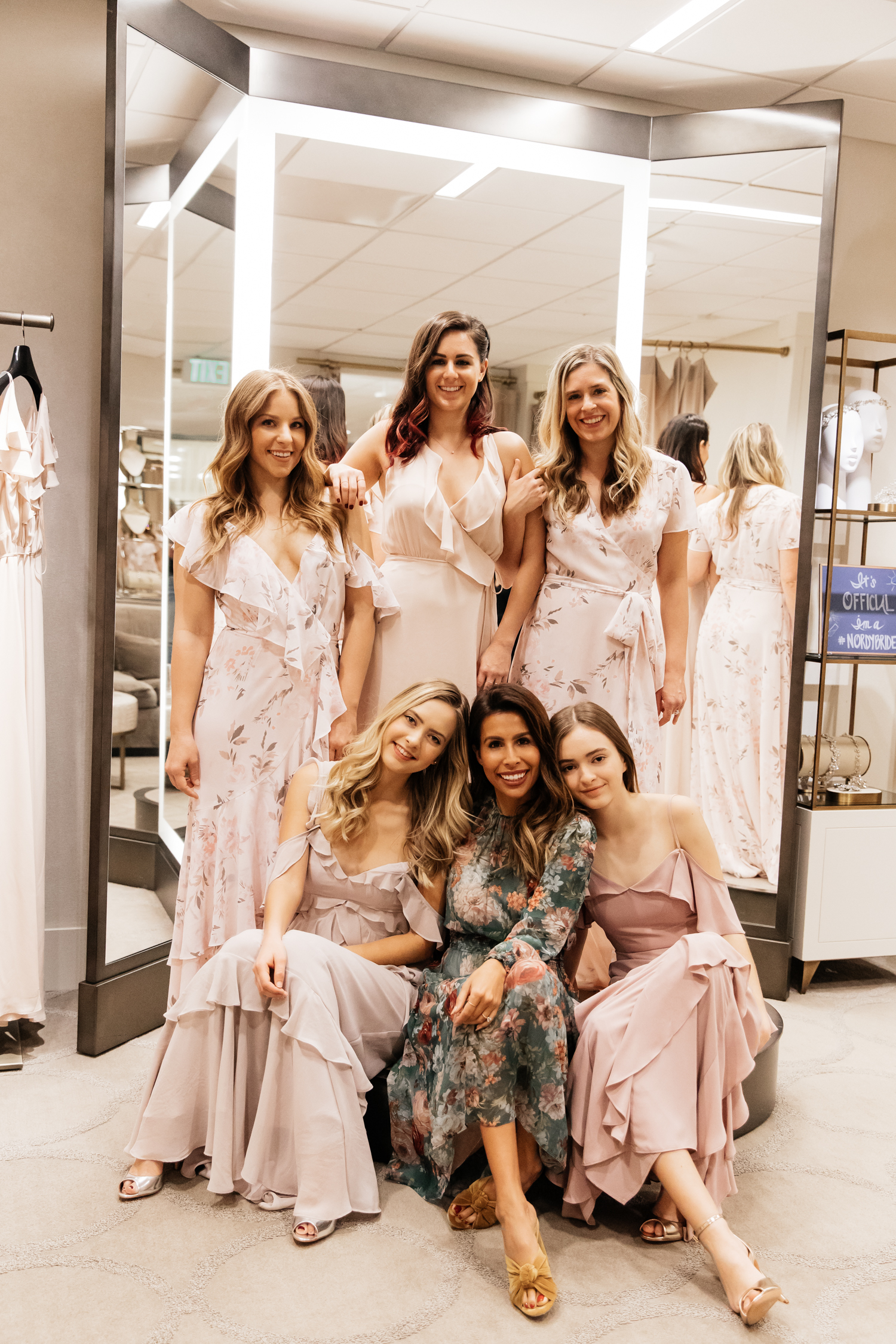 Finding the Perfect Bridesmaid Dresses w/ Wayf and Nordstrom