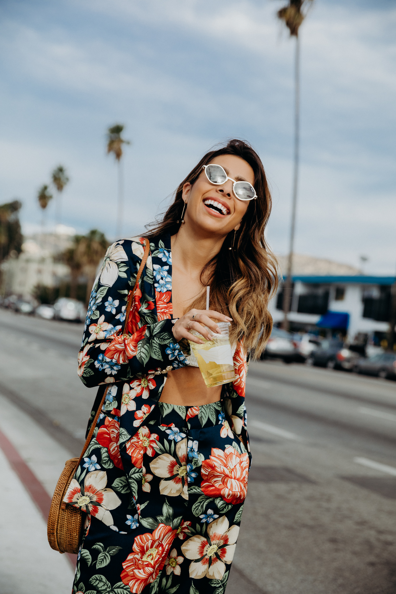 Floral Two Piece Zara Look - Everyday Pursuits