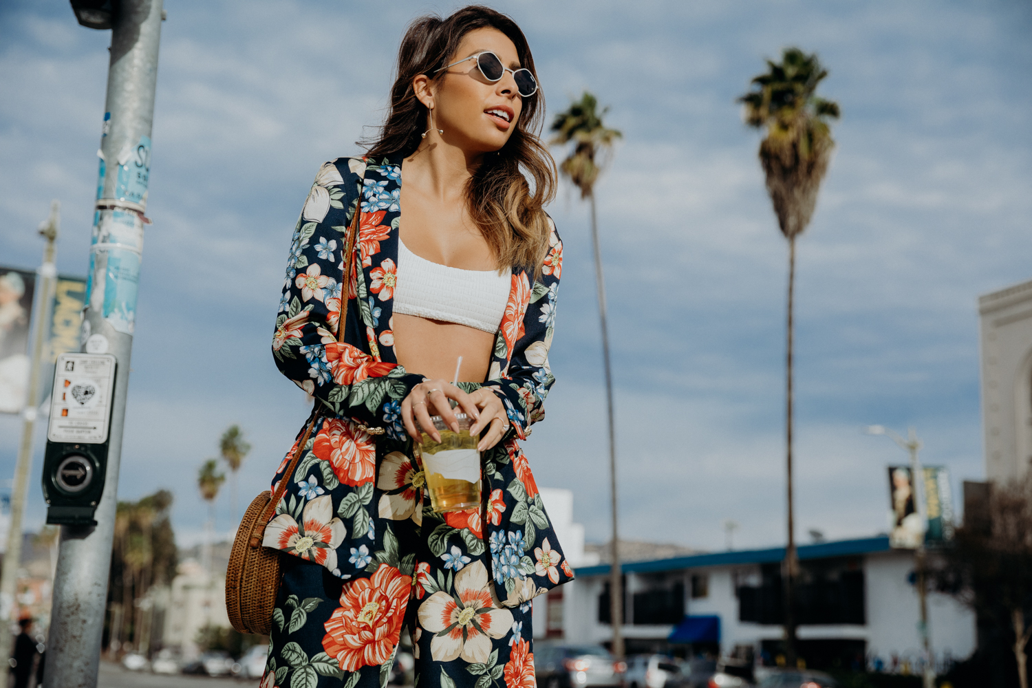 Floral Two Piece Look - Everyday Pursuits Palm Springs