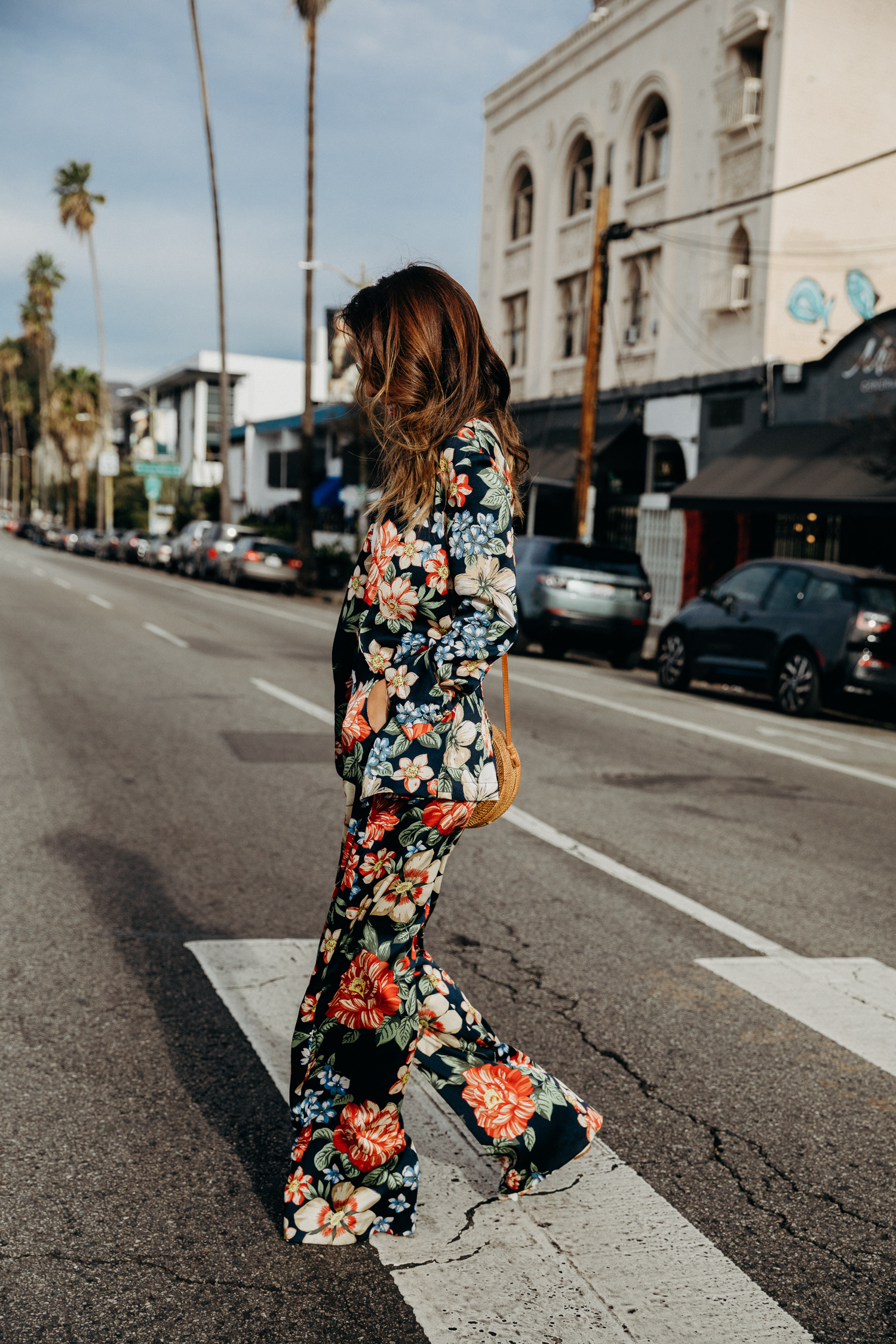 Floral Two Piece Look from Zara - Everyday Pursuits