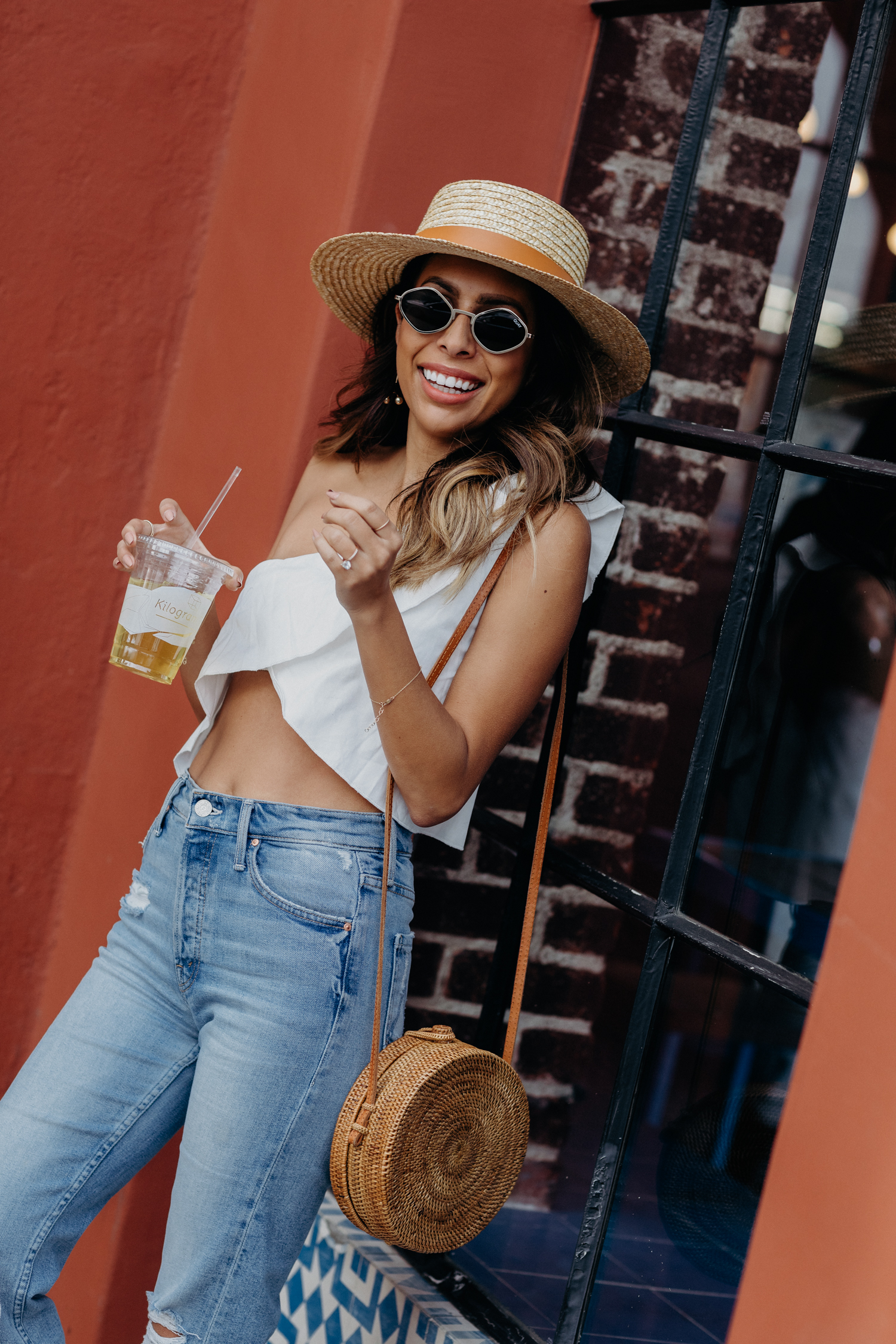 Palm Springs Vacay Outfit - Lioness Top
